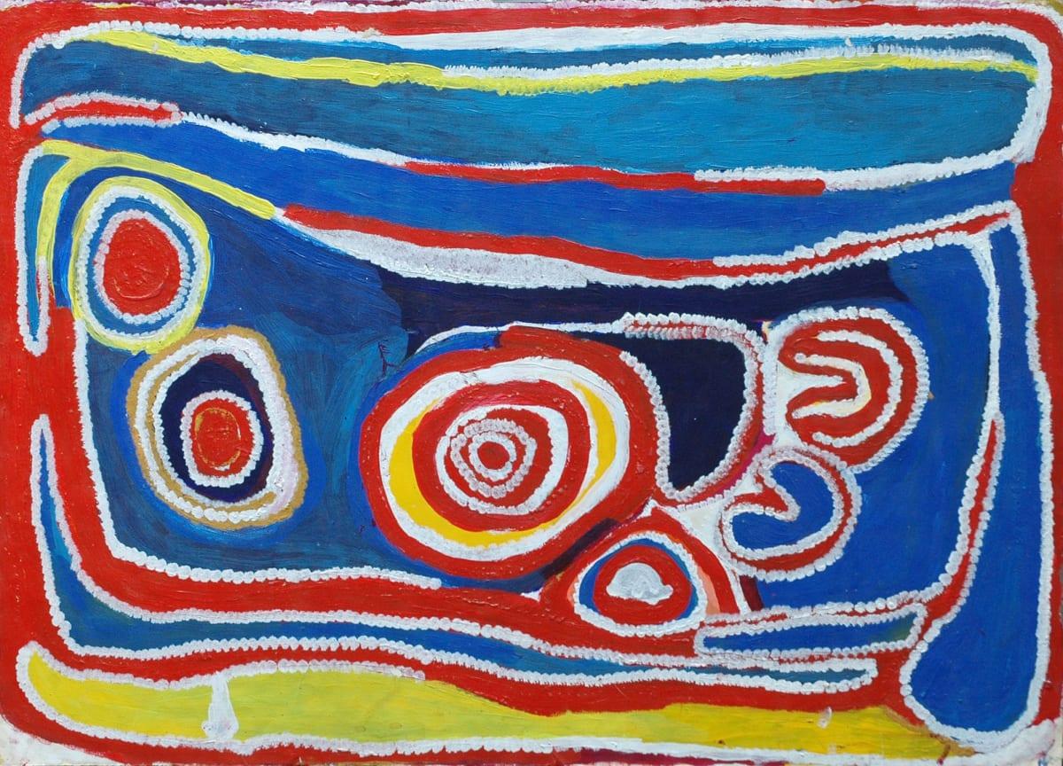 Molly Rogers Japingka atelier artist acrylic on 250gsm velin arches 105 x 75 cm