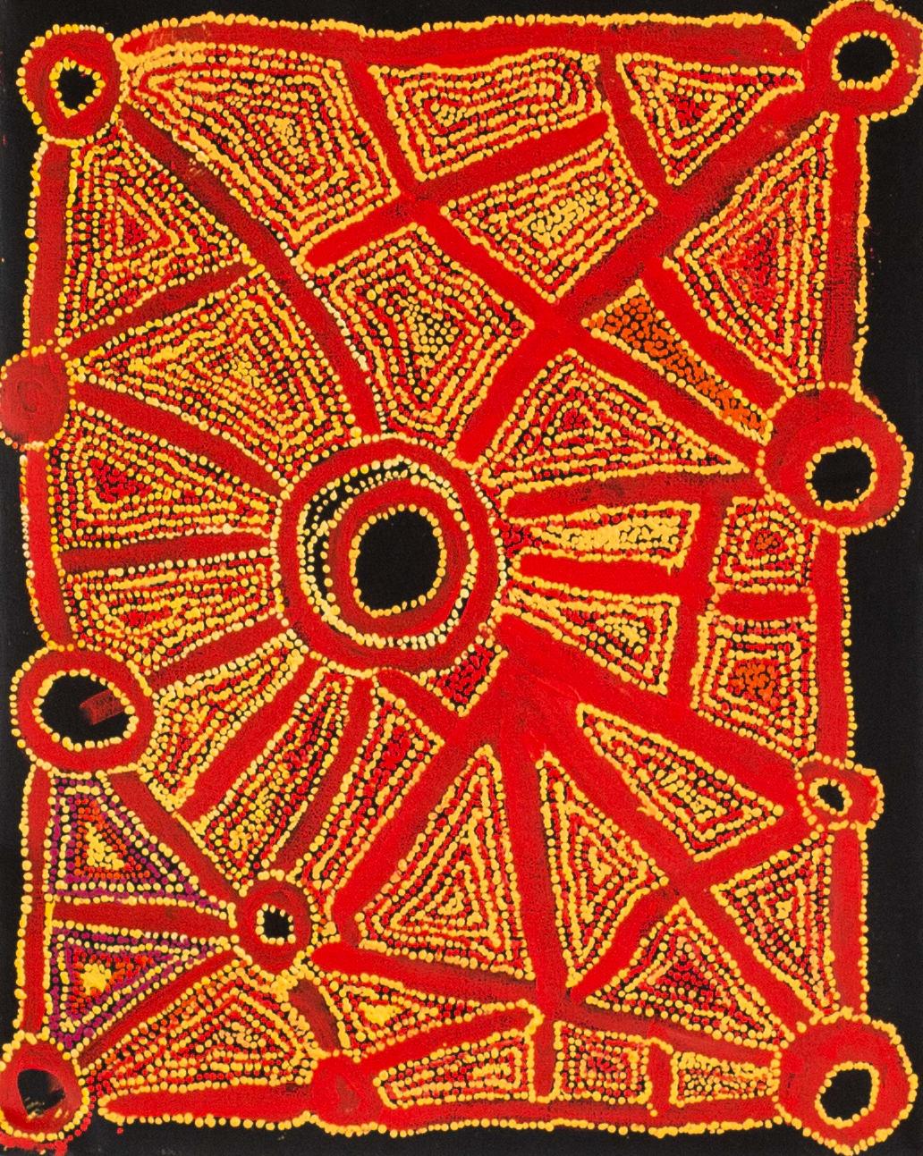 Kathleen (Kanta) Donnegan Upunya, 2018 Acrylic on linen 60 x 75 cm