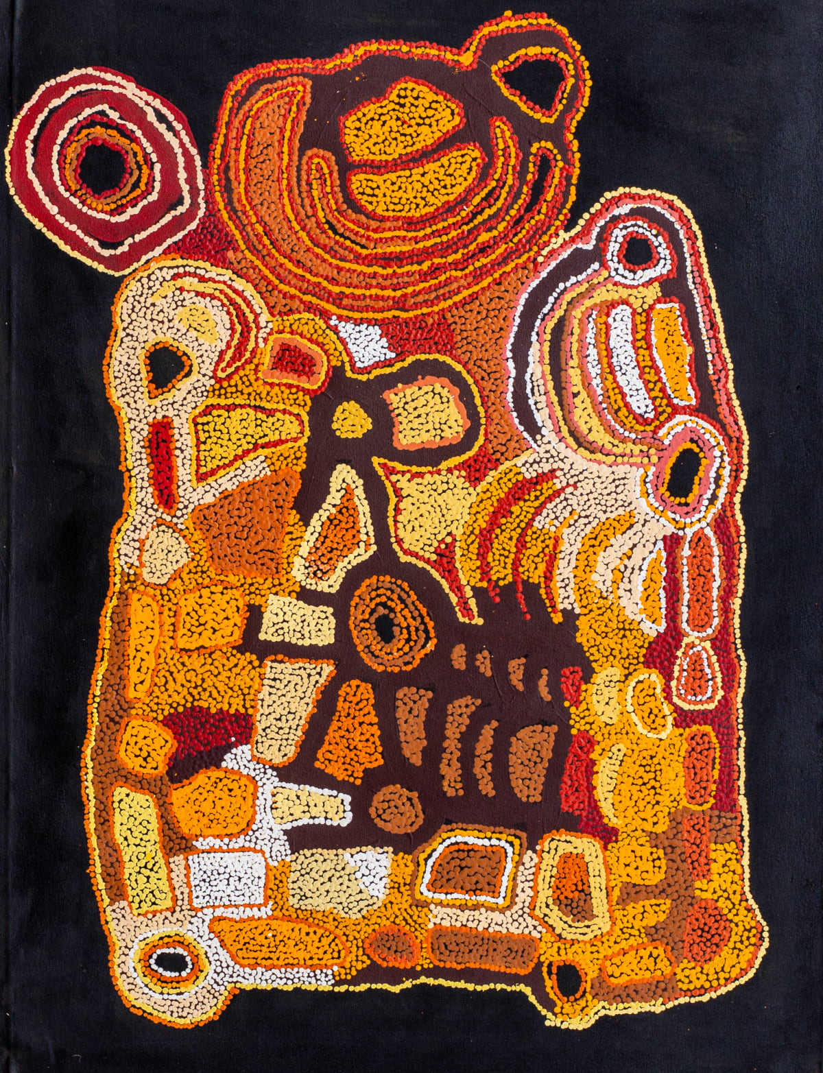Ngalpingka Simms Wayiyul, 2019 Acrylic on canvas 110 x 74 cm