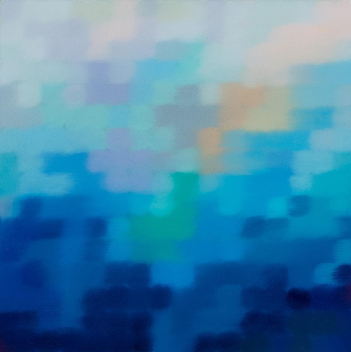 Matthew Johnson Ilum Marine I Oil paint on Linen 48 x 48 cm