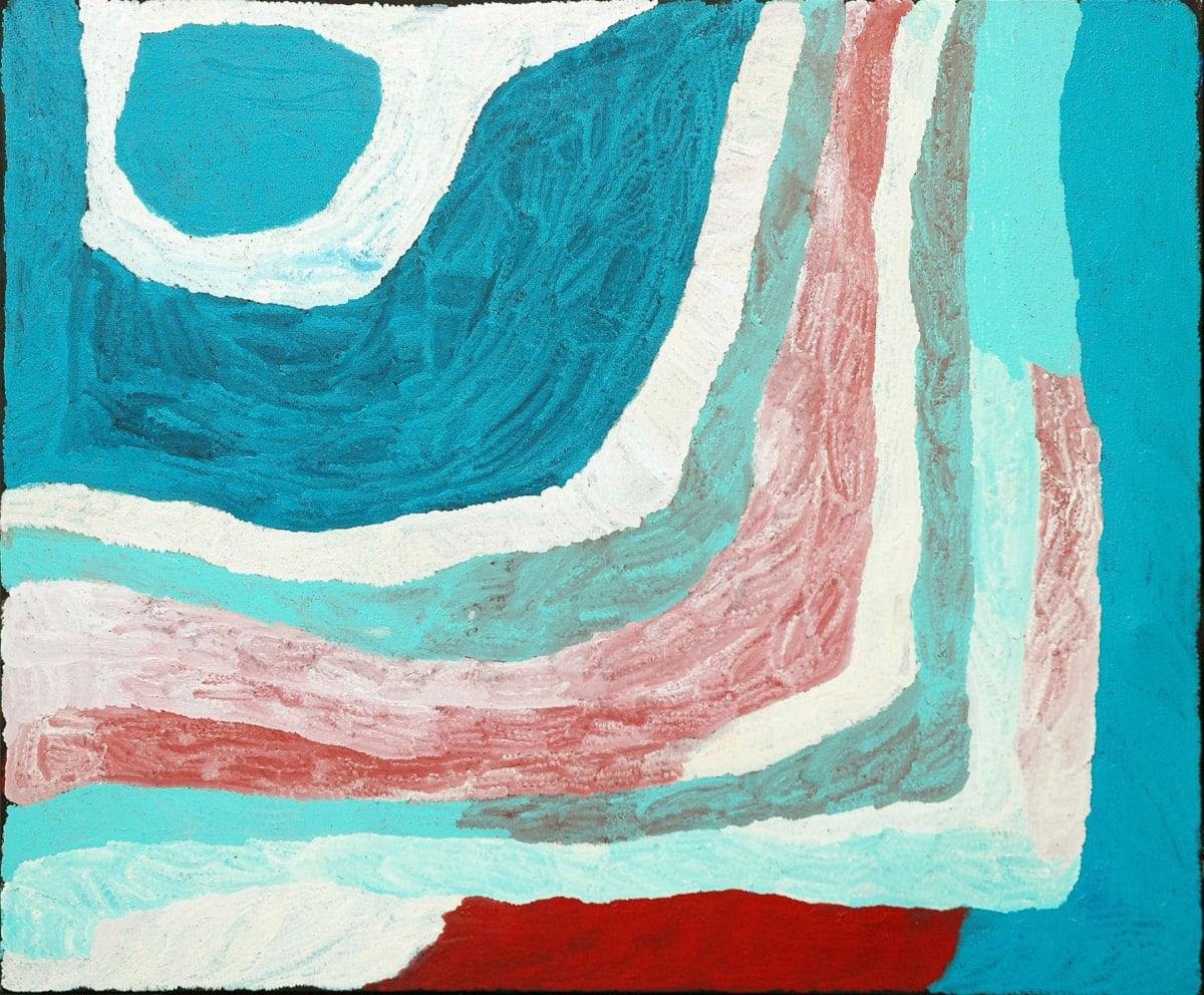 Lydia Balbal Warla acrylic on linen 150 x 180 cm