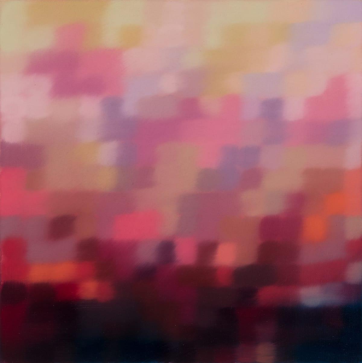 Matthew Johnson Ilum Terrain Oil paint on Linen 48 x 48 cm