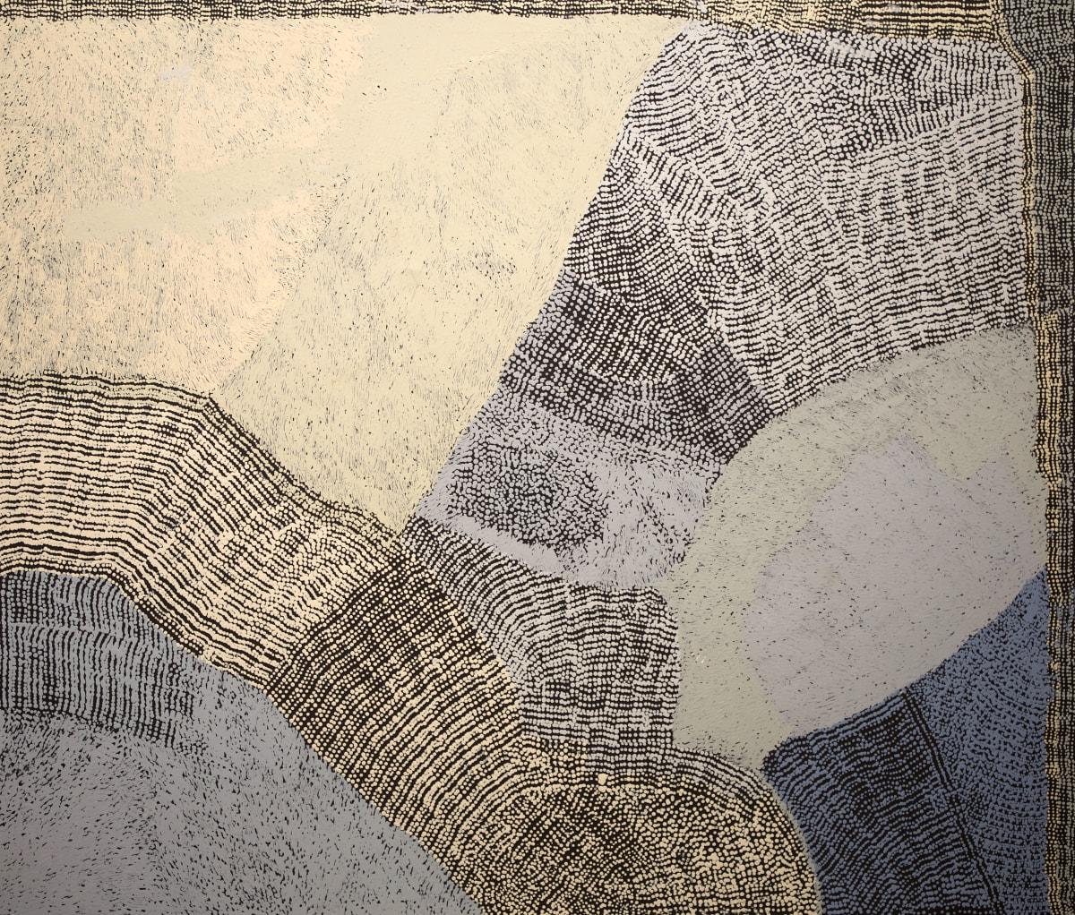 Pepai Jangala Carroll Ilpili, 2018 acrylic on linen 155 x 184 cm