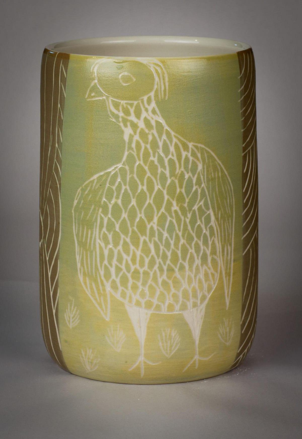 Carlene Thompson Tjulpu Stoneware 20 x 13 cm