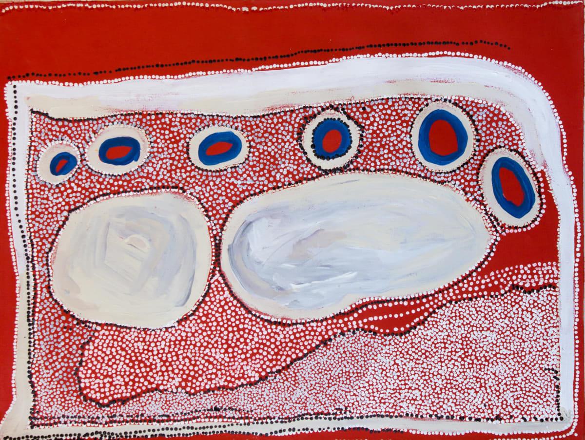 Carlene West Tjitjiti 2014 acrylic on linen 110 x 83 cm
