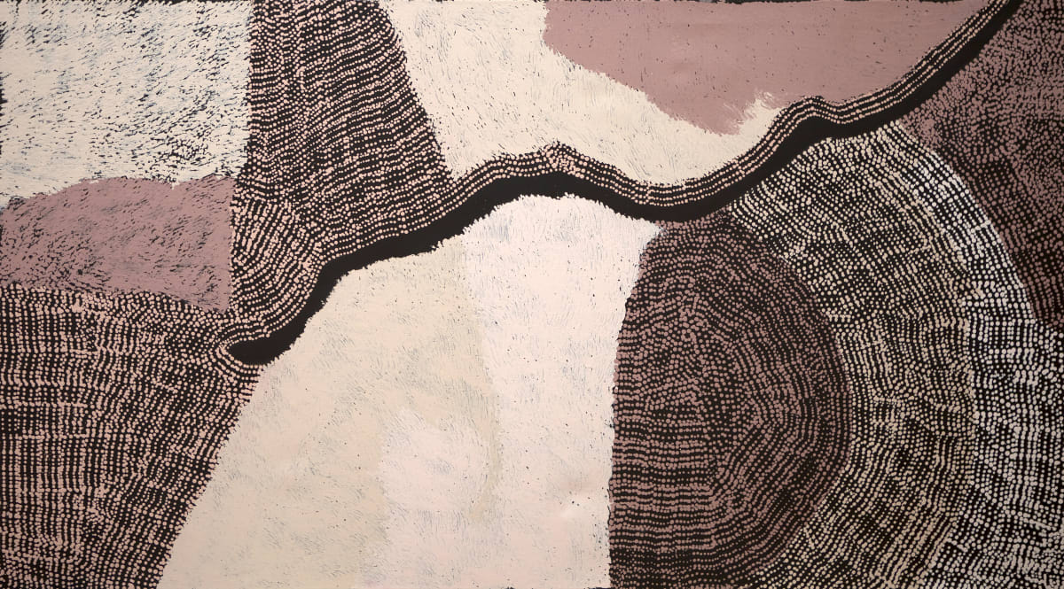 Pepai Jangala Carroll Walungurru, 2019 Acrylic on Canvas 180x100cm