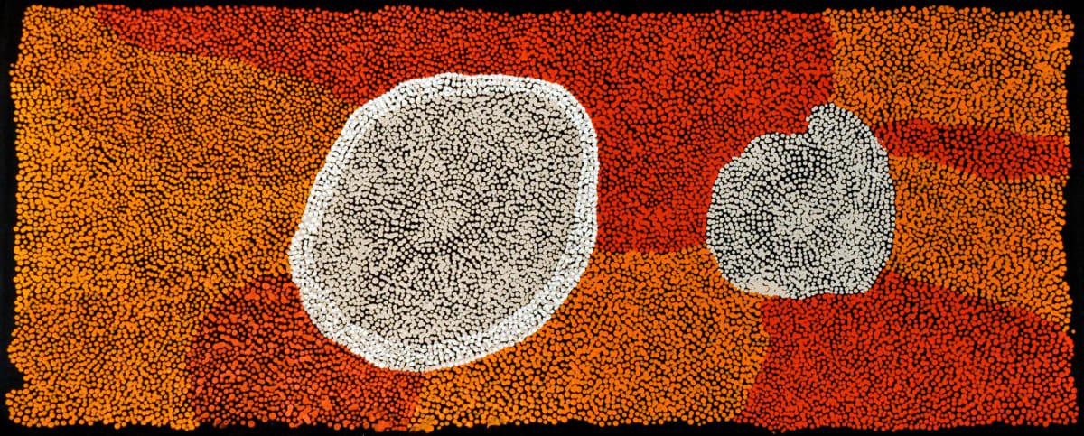 Ungakini (Dolly) Tjangala Minyma Kutjara acrylic on canvas 122 x 50 cm