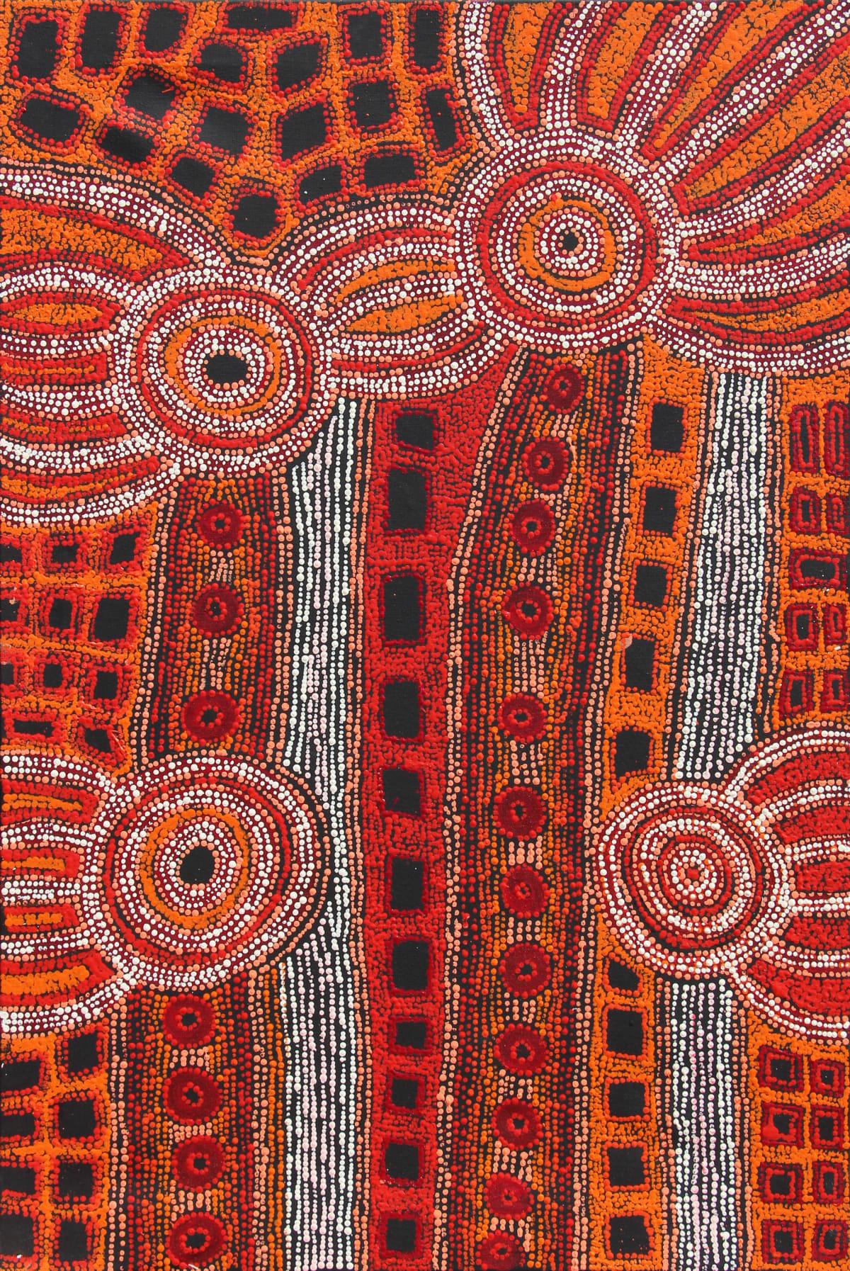 Rosalind Tjanyari Ngura Kutti (Spirit Country), 2019 Acrylic on Linen 81 x 122cm