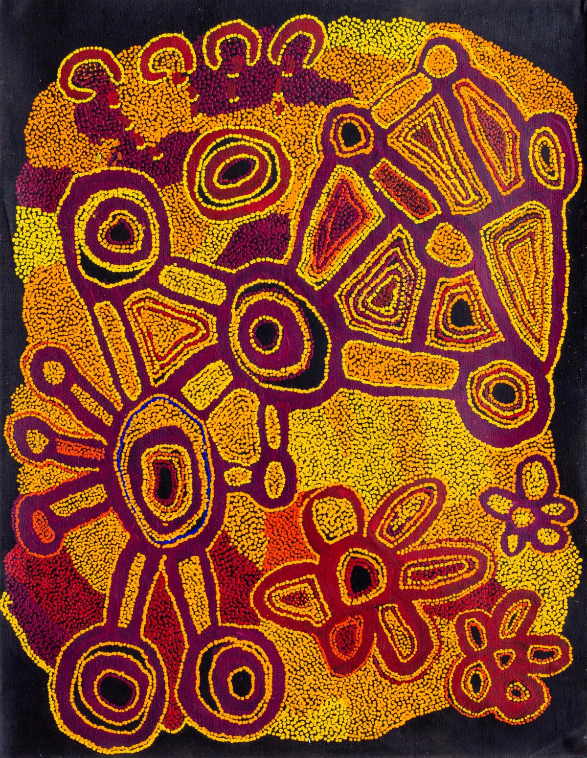 Ngalpingka Simms Wayiyul, 2019 Acrylic on linen 110 x 85 cm