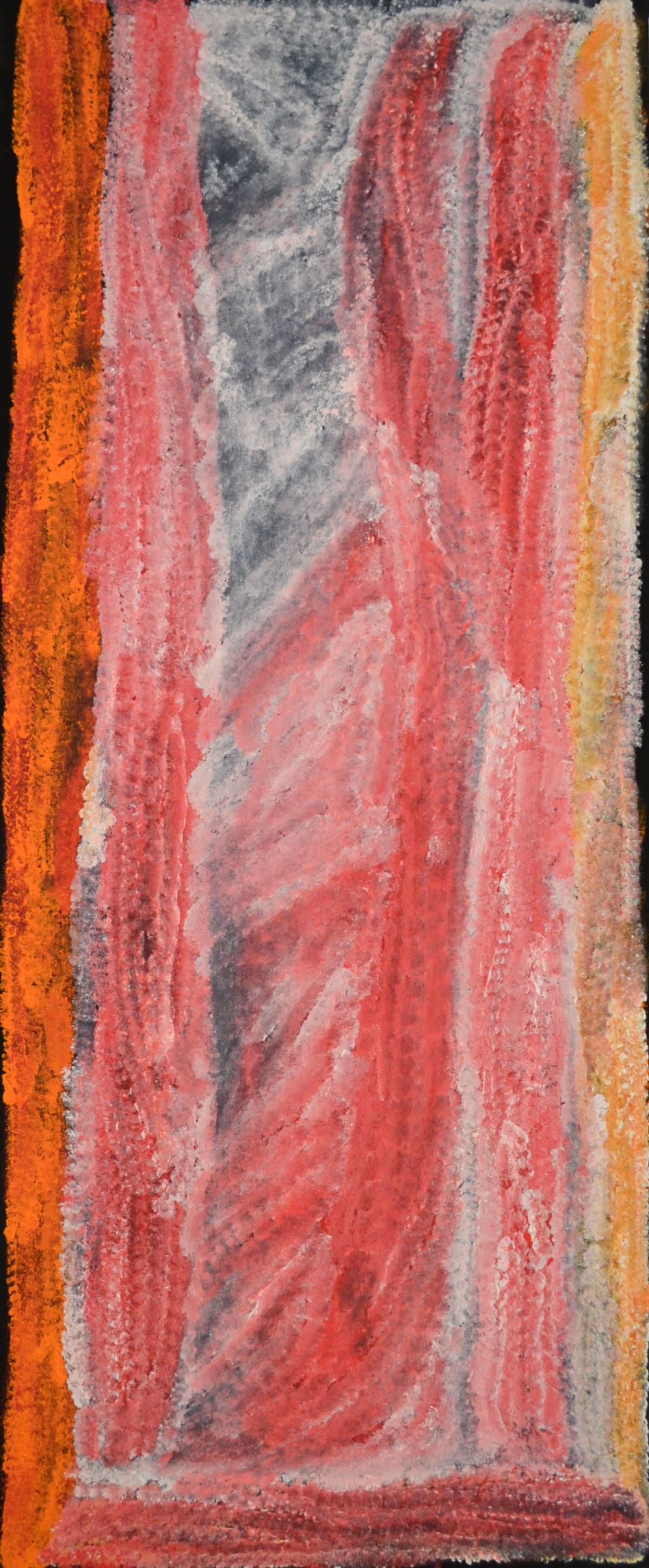 Lydia Balbal Jawani Jawani acrylic on canvas 101 x 40 cm