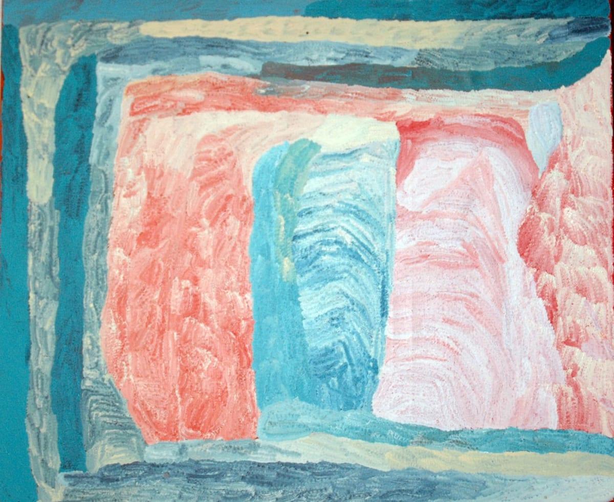 Lydia Balbal Martakulu acrylic on linen 150 x 180 cm