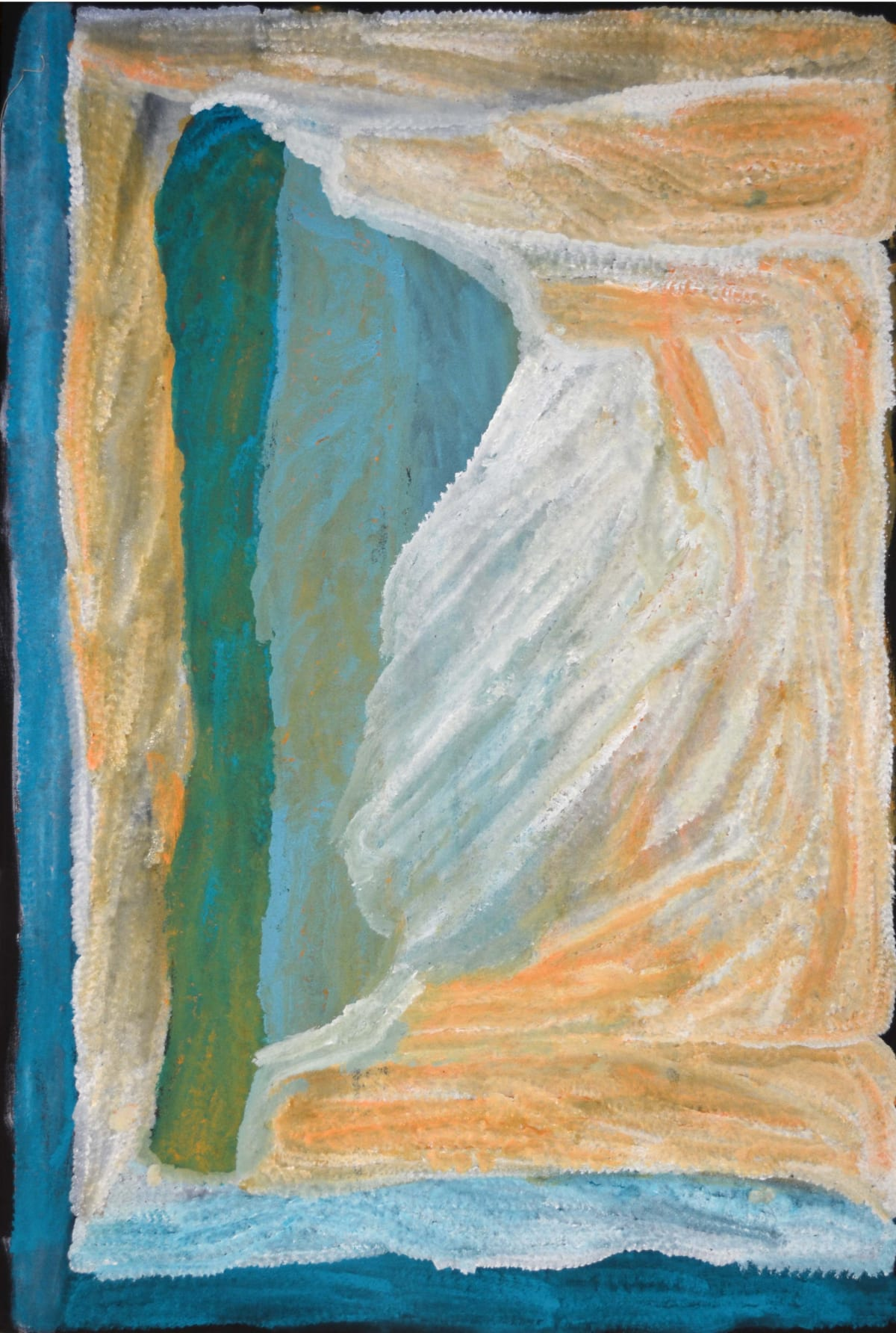 Lydia Balbal Men's Country acrylic on canvas 120 x 78 cm