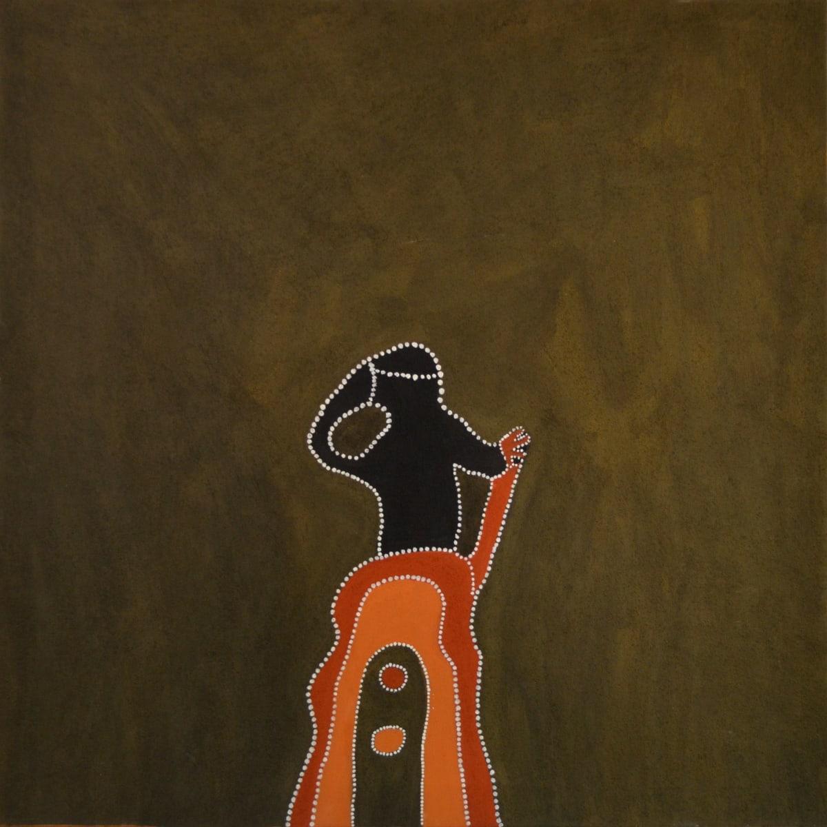 Mabel Juli MARRANYJI DU JIYIRRINY natural ochre and pigments on canvas 120 x 120 cm