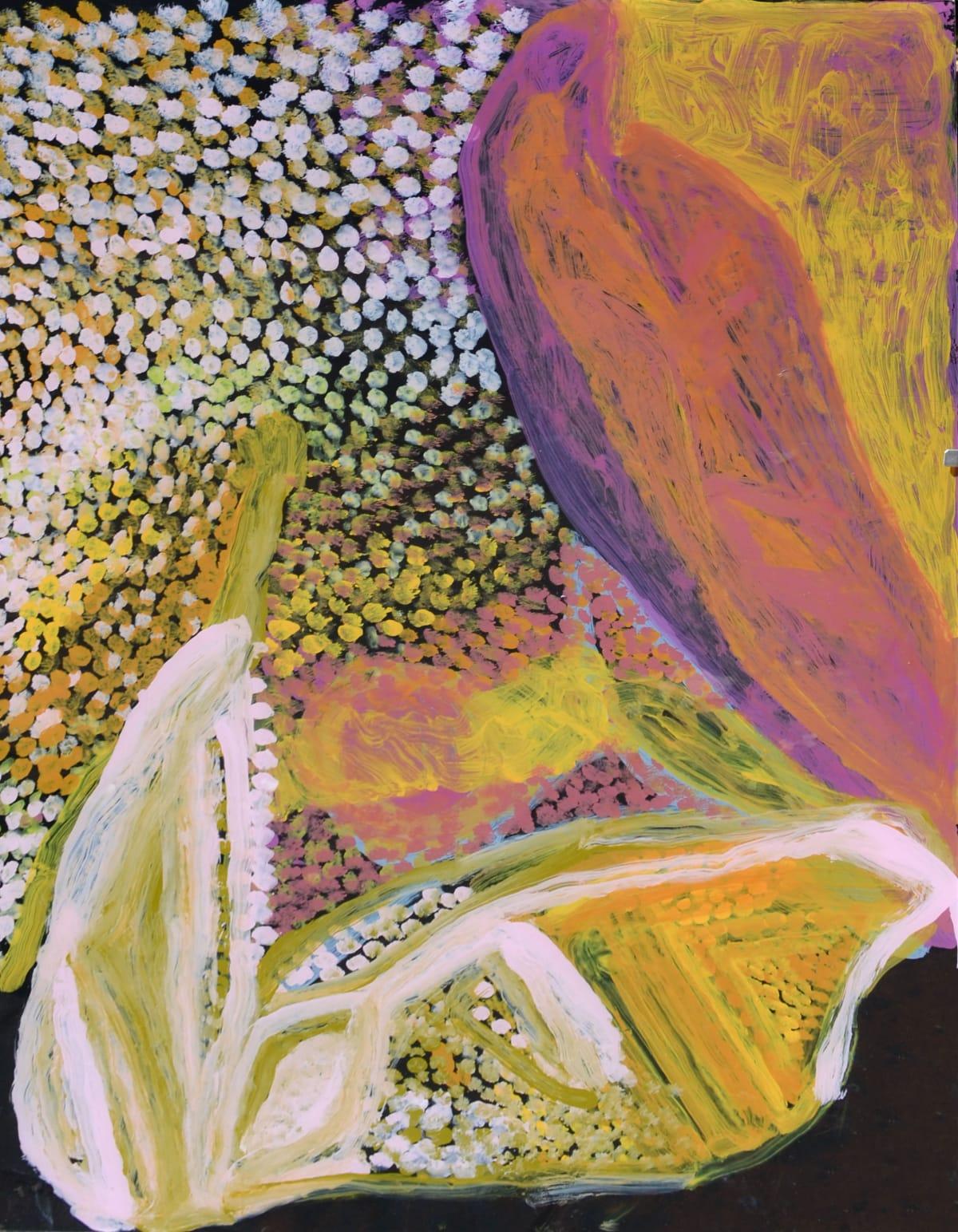 Nada ( Tjigilia) Rawlins Linjalangu acrylic on polycarbonate 90 x 60 cm