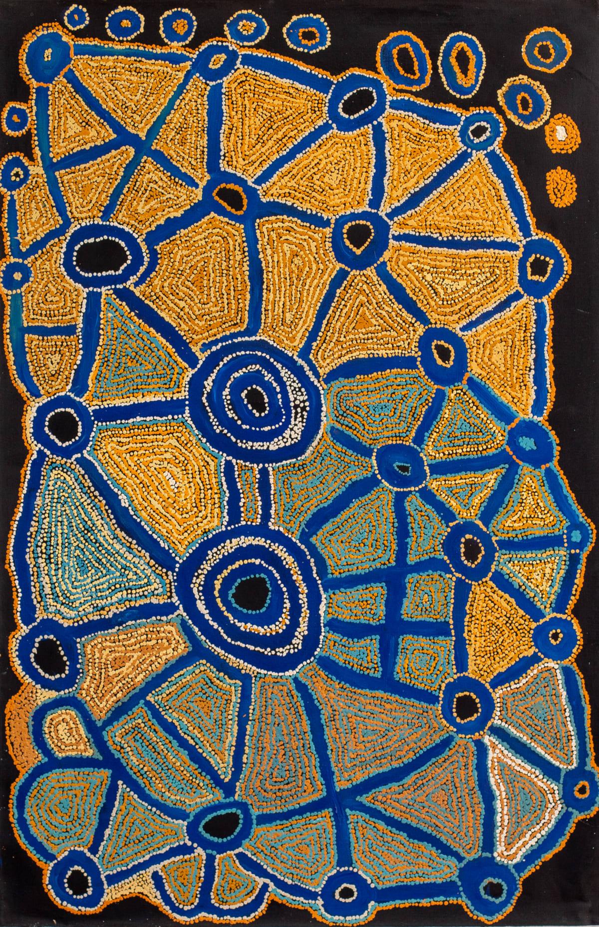 Kathleen (Kanta) Donnegan Pirapi Munu Tjuntjunya, 2018 Acrylic on linen 137 x 90 cm