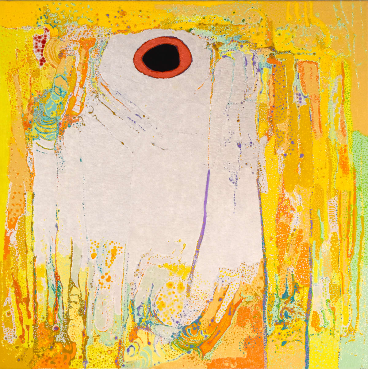 Daniel Walbidi Winpa, 2019 Acrylic on Canvas 100 x 100