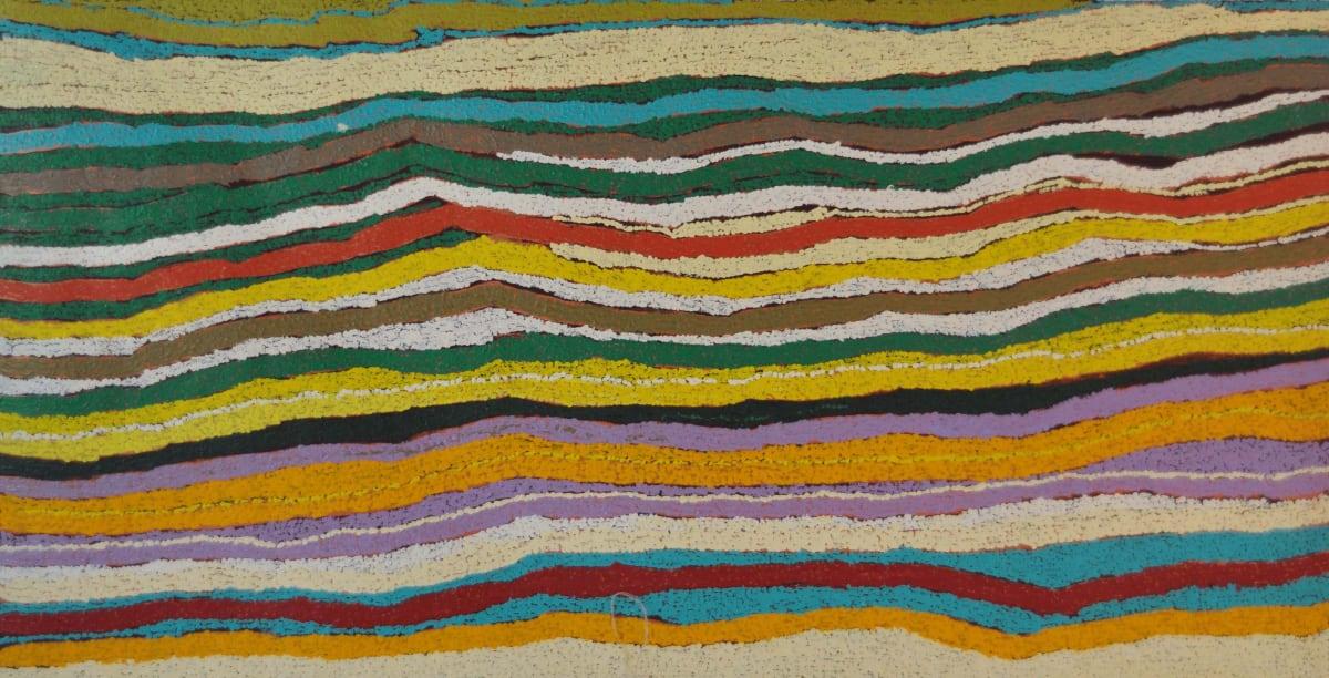 May Chapman Talituwa Punmu acrylic on linen 76 x 152 cm