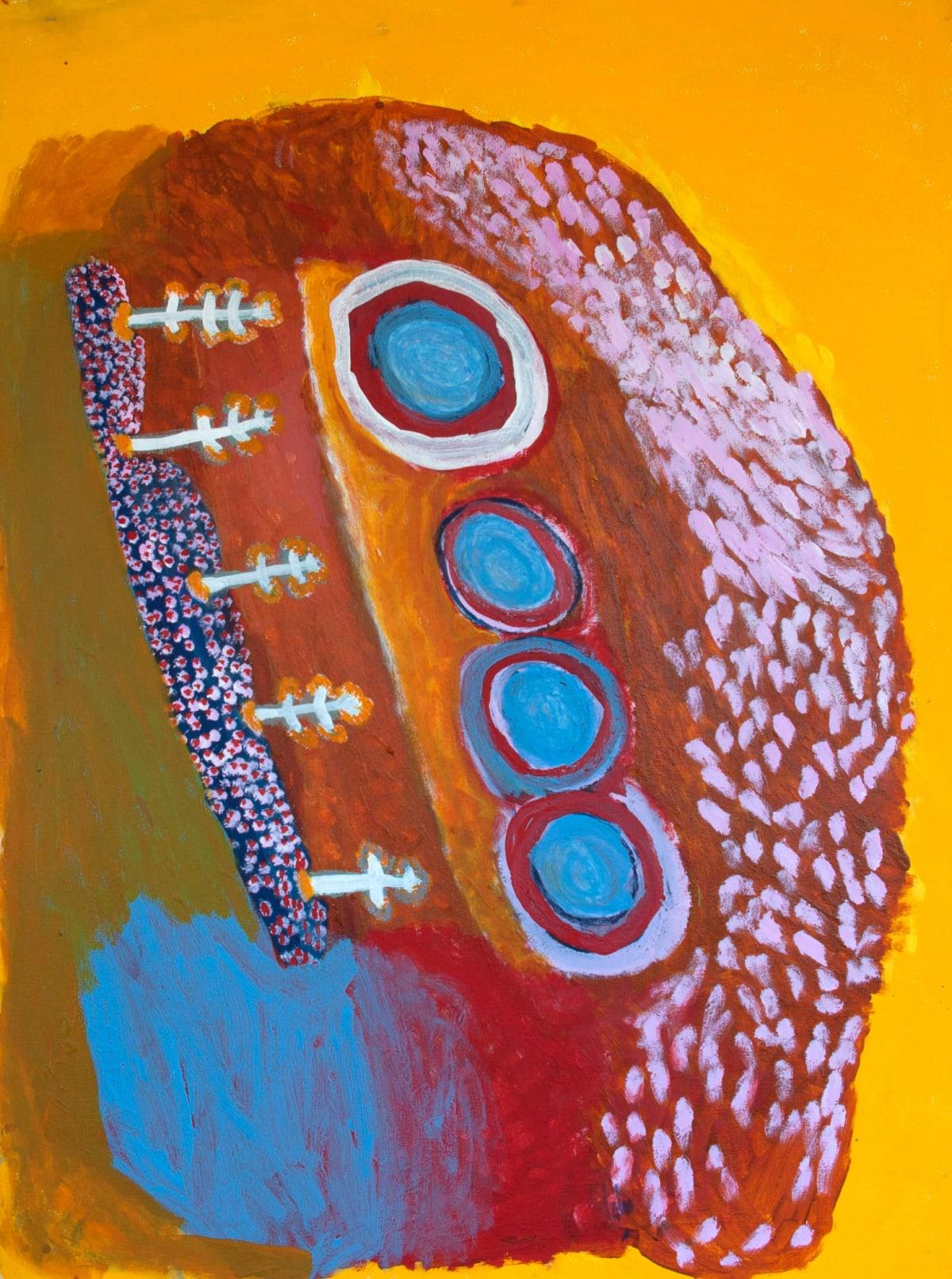 Rosie (Tarku) Tarco King Japirnka acrylic on canvas 120 x 90 cm
