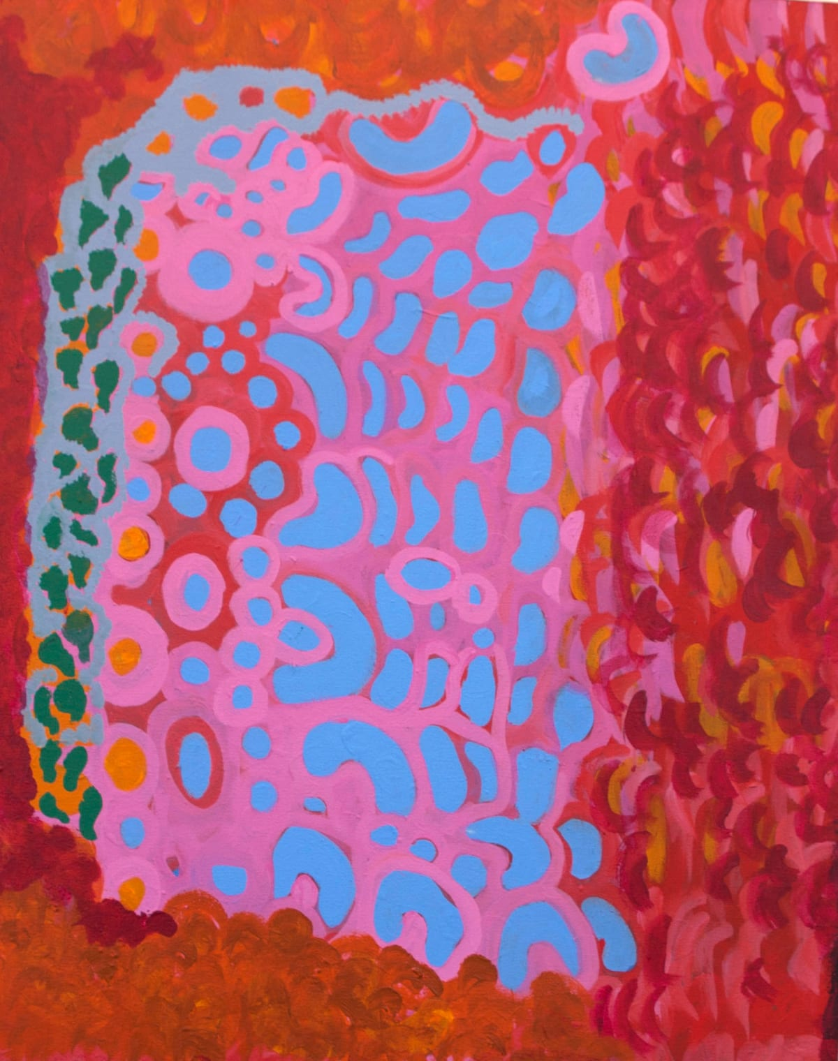 Dorothy Forrest Martuwarra Kartaji acrylic on canvas 80 x 100 cm