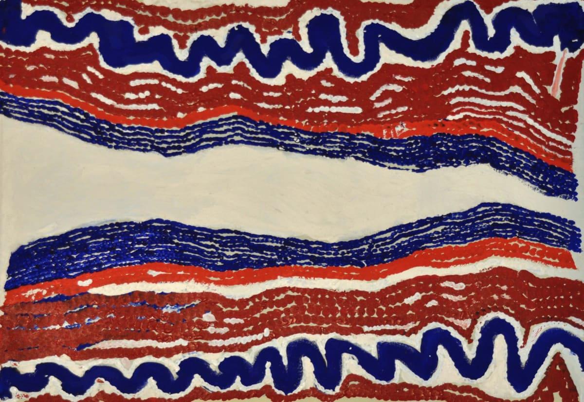 Nancy Patterson (Pinyirr) Wangkakarlu acrylic on canvas 61 x 91 cm