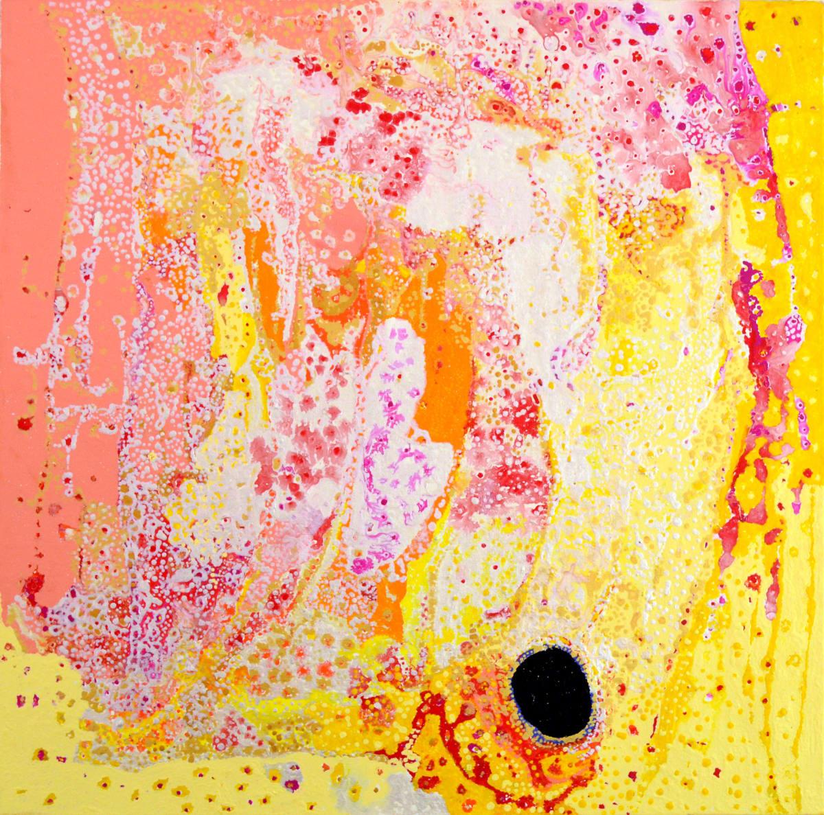 Daniel Walbidi Kirriwirri acrylic on linen 100 x 100 cm