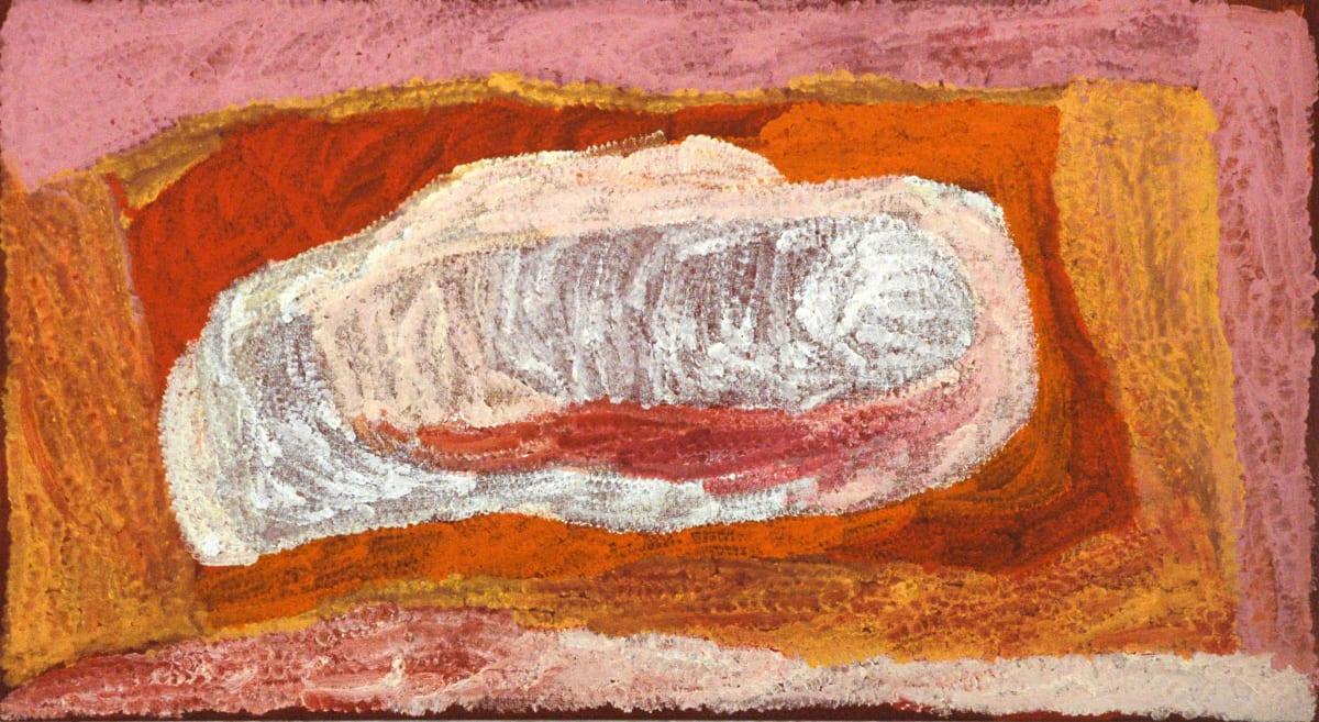 Lydia Balbal Martakulu acrylic on canvas 106 x 60 cm