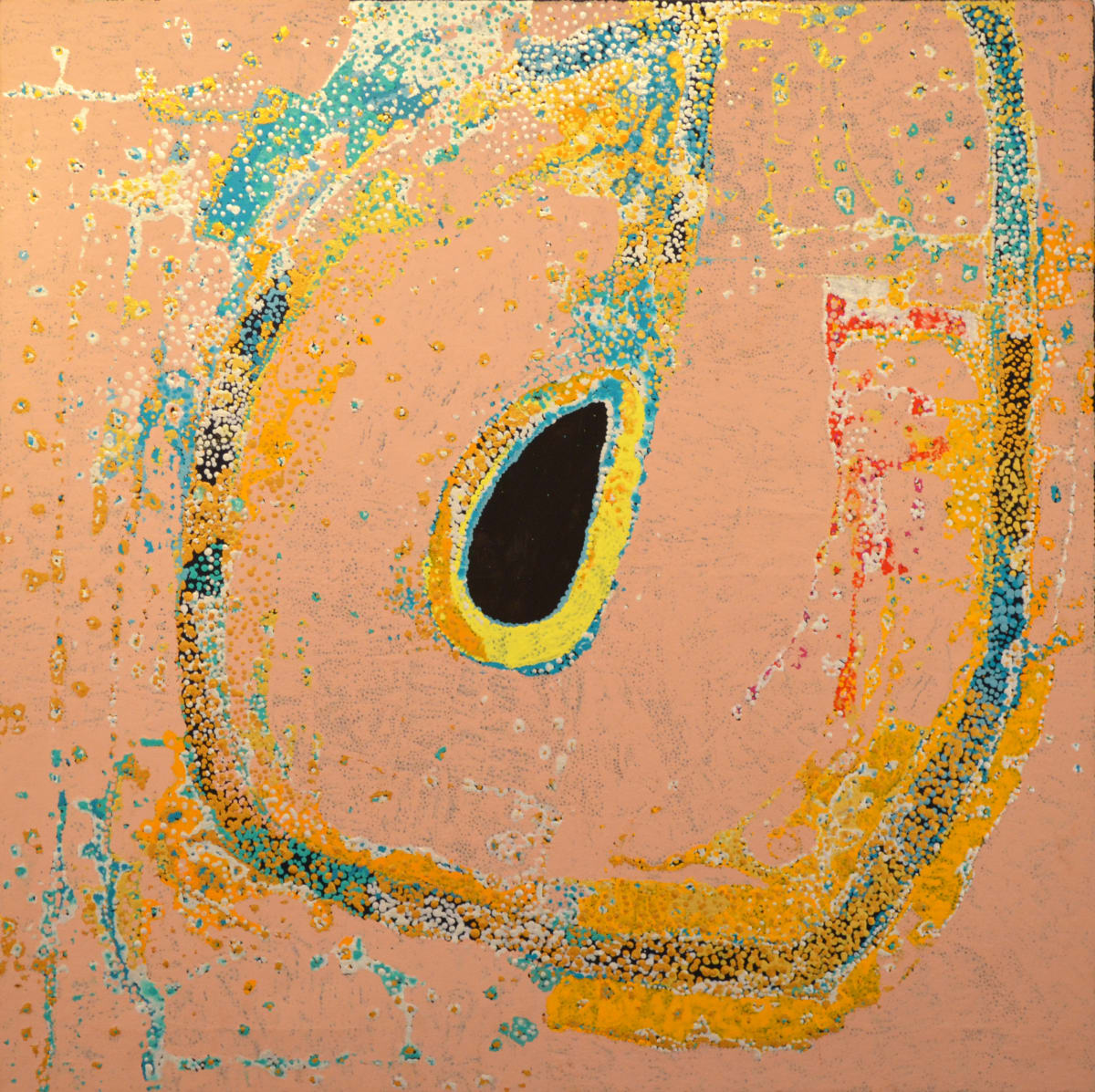 Daniel Walbidi Winpa acrylic on linen 100 x 100 cm