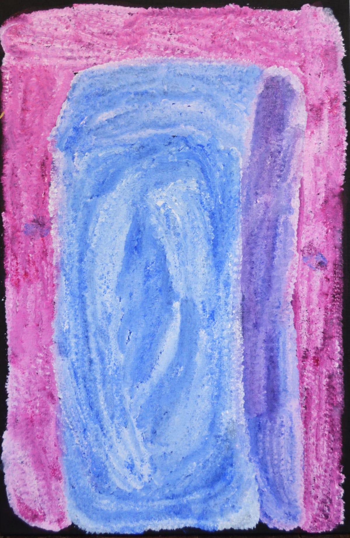 Lydia Balbal Martakulu acrylic on linen 46 x 71 cm