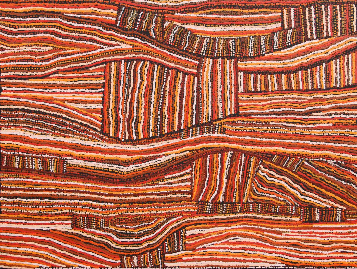 Kerry Ann Robinson Ngura (Country) acrylic on canvas 91 x 122 cm