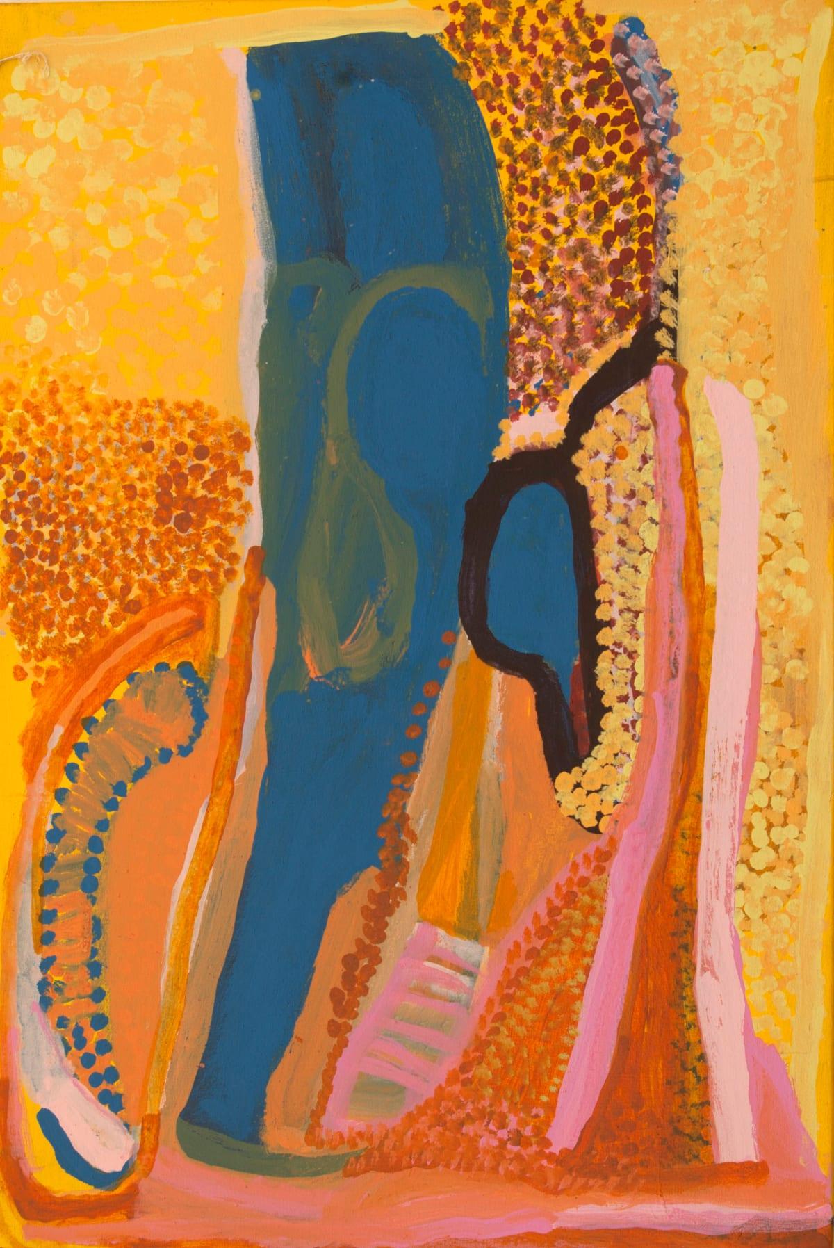 Nada ( Tjigilia) Rawlins Yimirri acrylic on canvas 60 x 90 cm