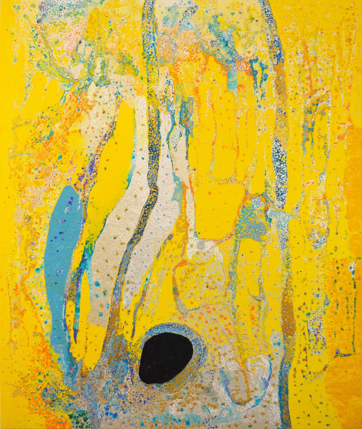 Daniel Walbidi Kirriwirri acrylic on linen 180 x 150 cm