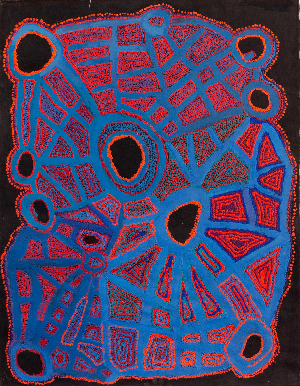 Kathleen (Kanta) Donnegan Kungkarangkalpa, 2018 Acrylic on linen 110 x 85 cm