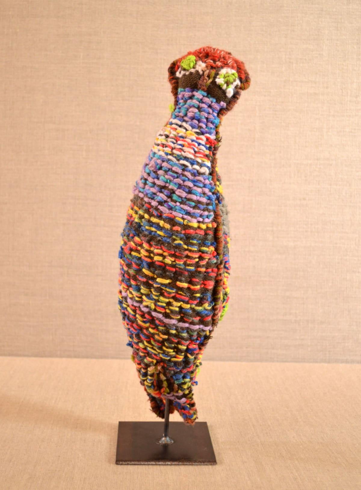 Margaret Kunmanara Nampitjinpa Boko Owl Soft Sculpture 39 x 14 x 9 cm