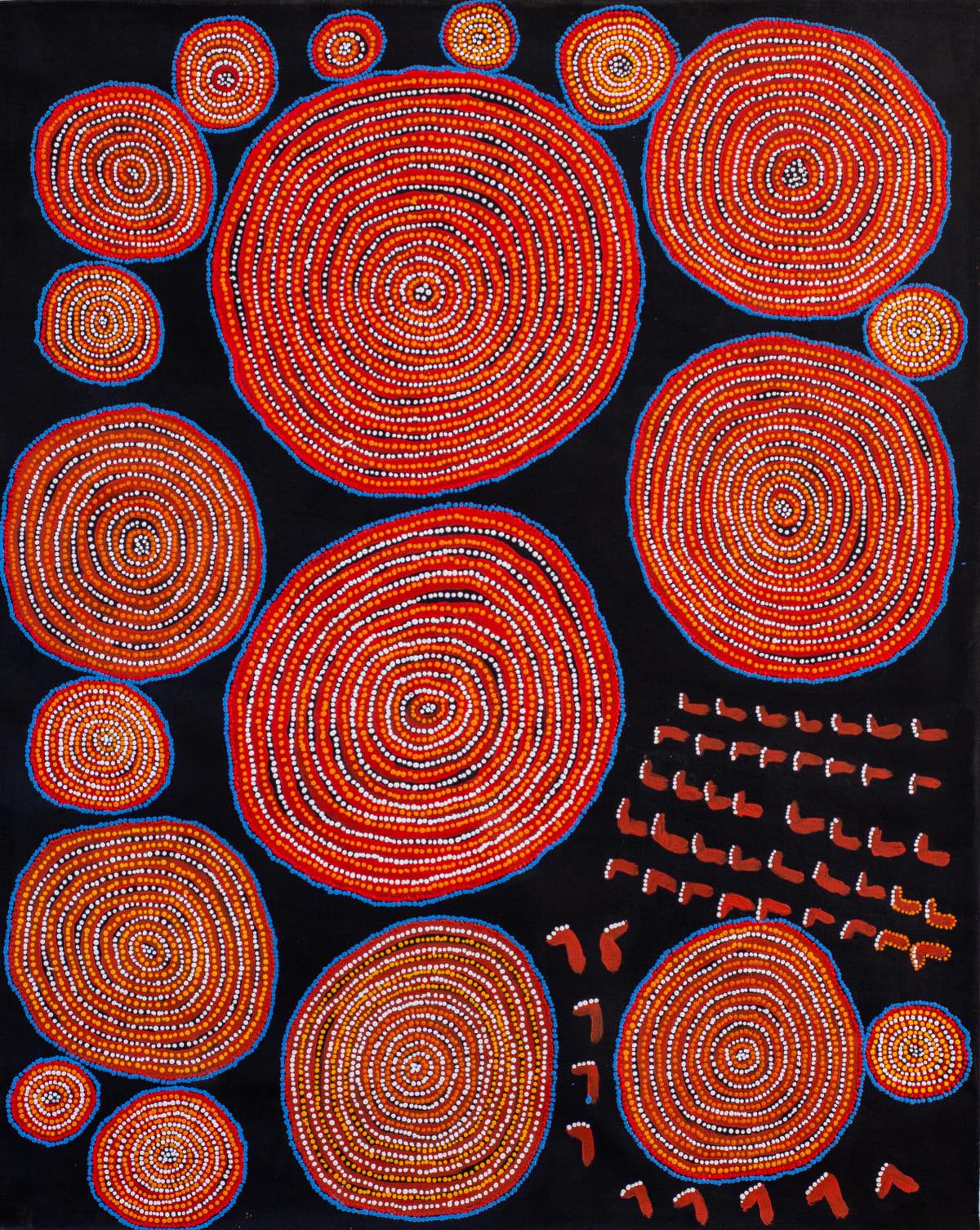 Lennard Walker Kuru Ala, 2019 Acrylic on linen 137 x 110 cm