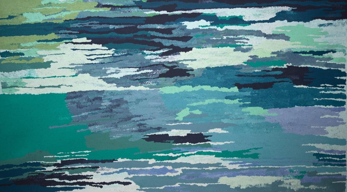 Rachel Mipantjili Lionel Kapi Wankanya acrylic on linen 180 x 100 cm