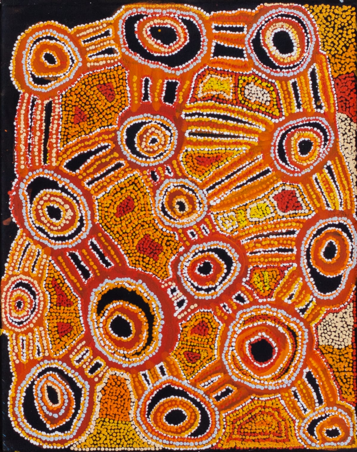 Sophia Brown Kuru Ala, 2019 Acrylic on canvas 60 x 75 cm