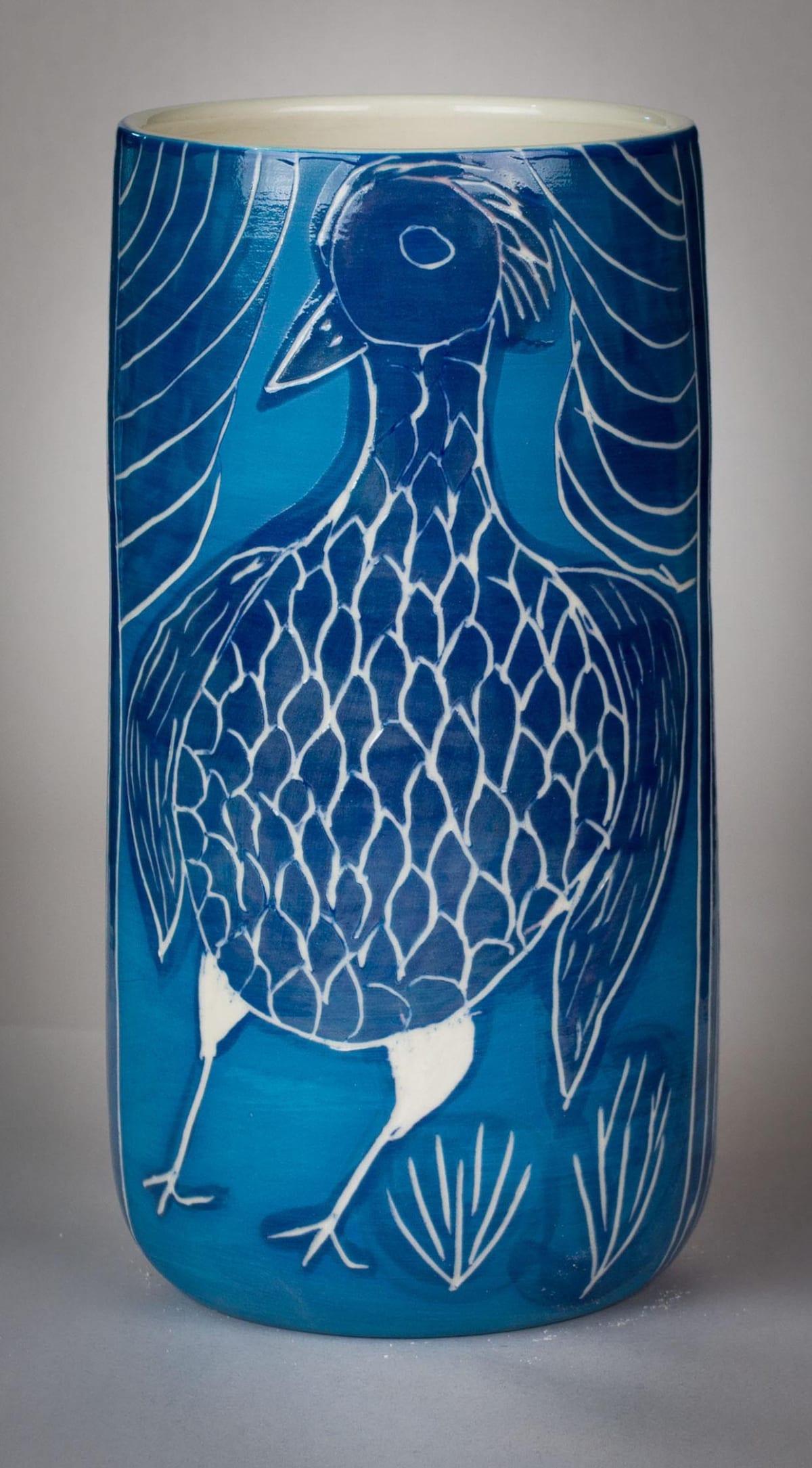 Carlene Thompson Tjulpu Stoneware 22.5 x 11 cm