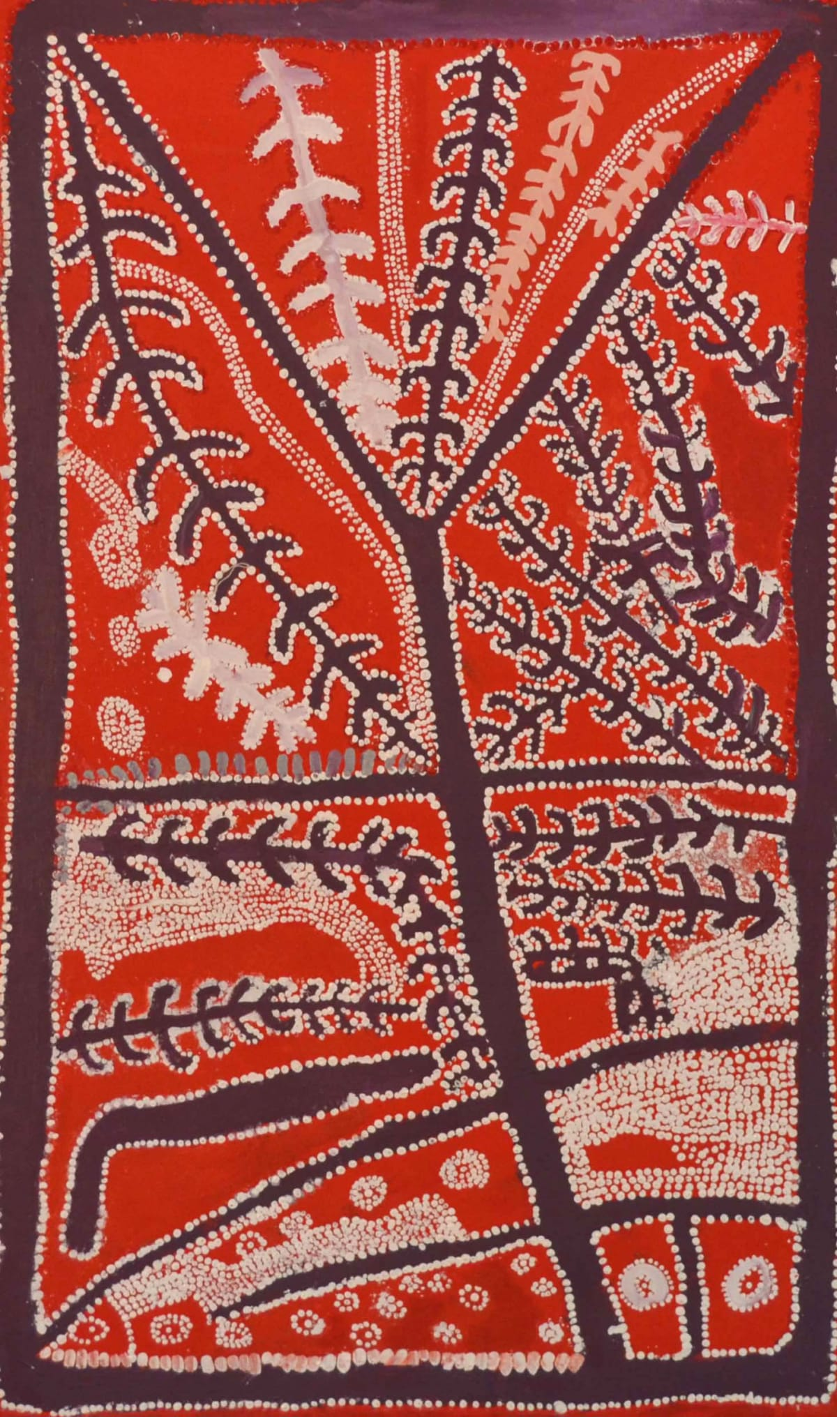 Whiskey Tjukangku Arrernte Country acrylic on canvas 101 x 61 cm