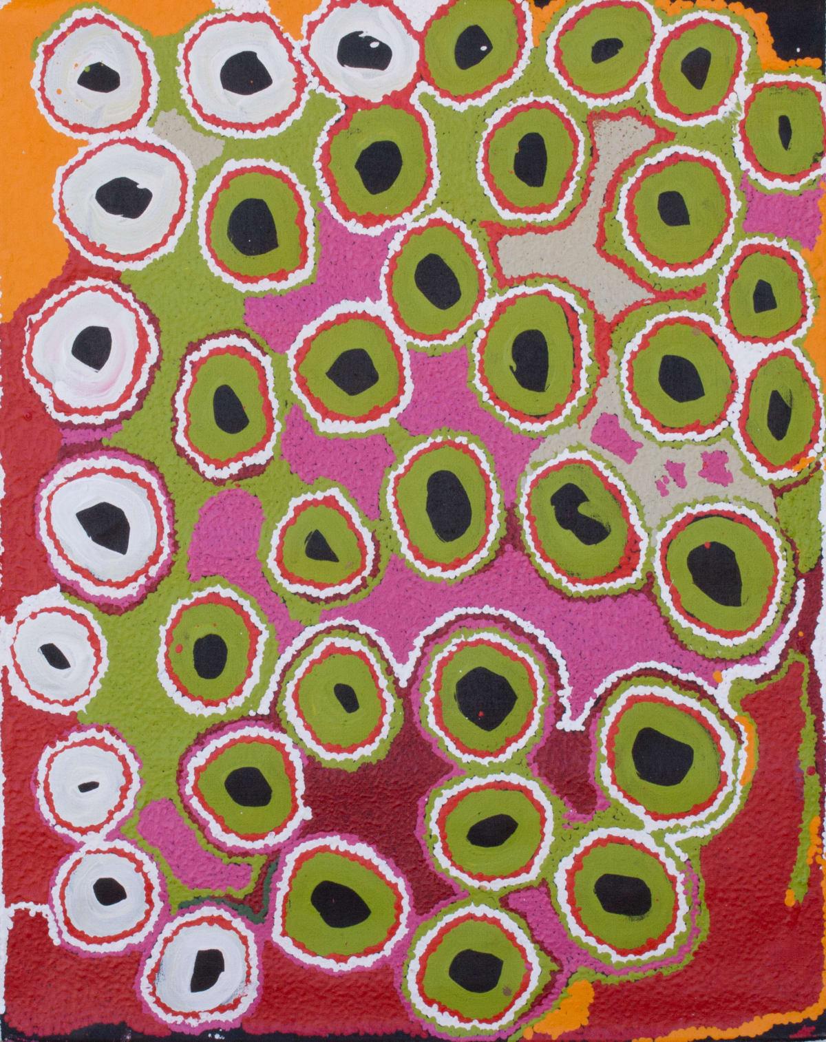 Myrtle Pennington Kanpa 2013 acrylic on linen 75 x 60 cm