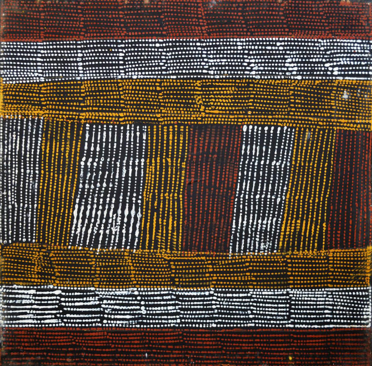 Dymphna Kerinauia Jilamara natural ochres on canvas 60 x 60 cm