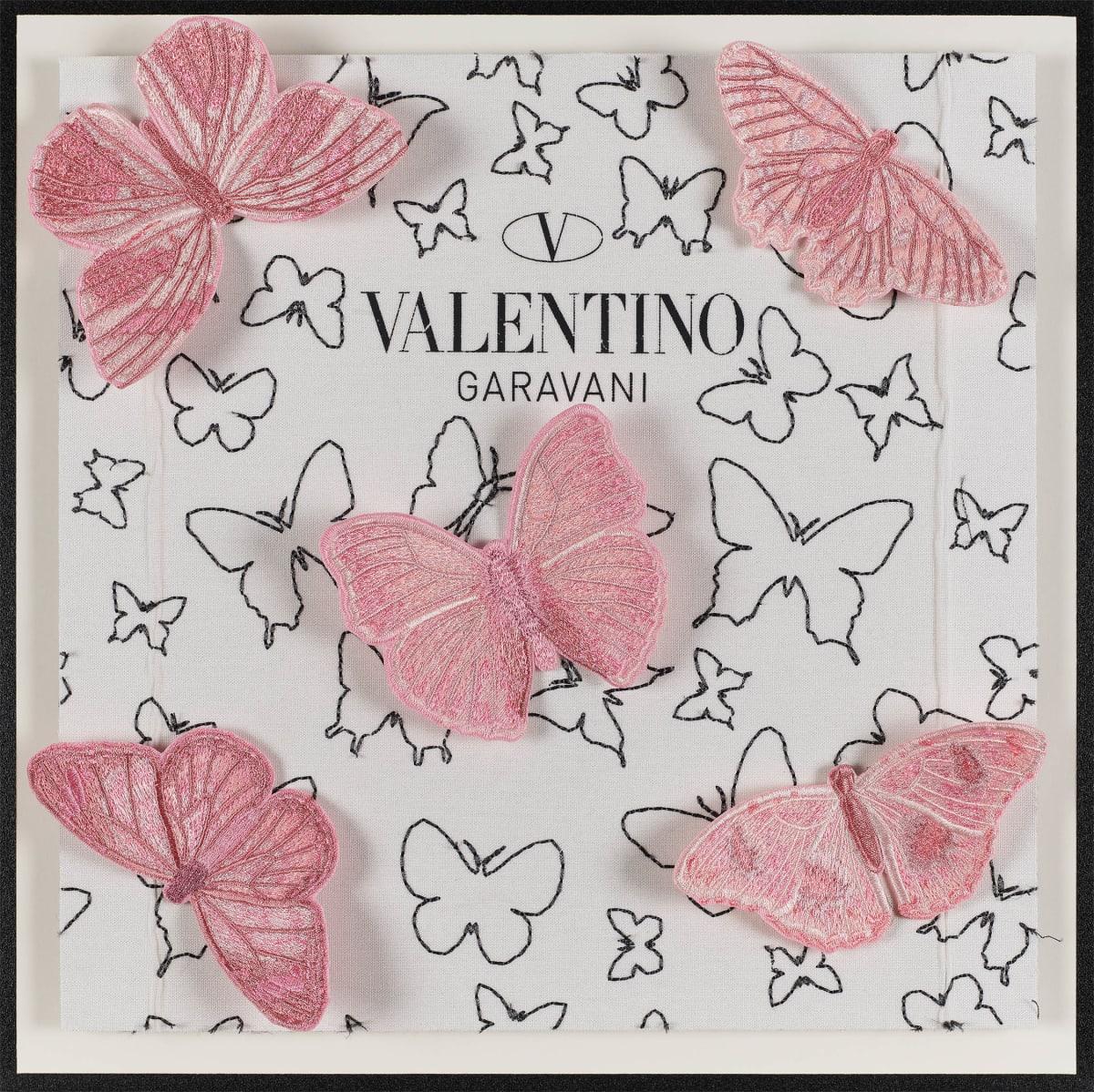 Stephen Wilson, Valentino Pink Flutter, 2019