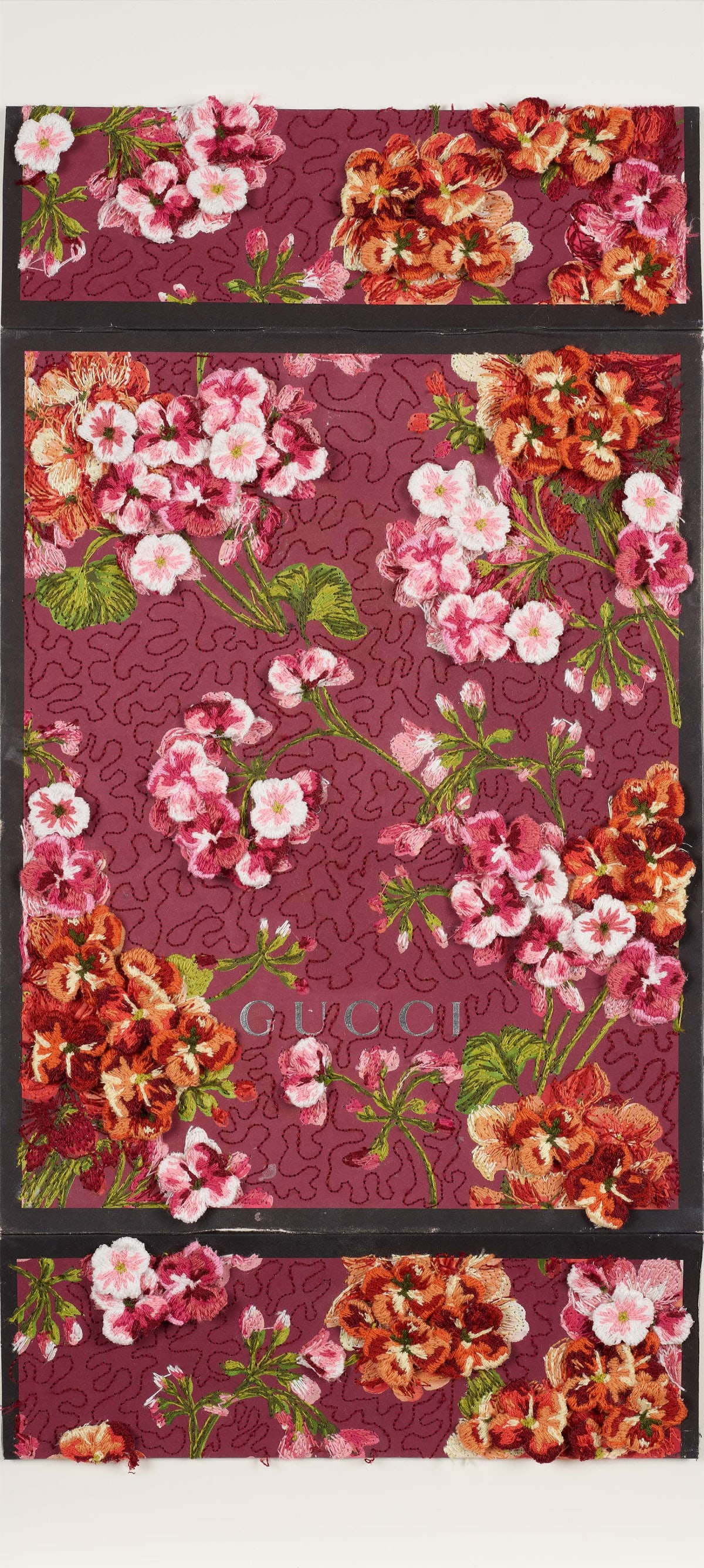 Stephen Wilson, Double Floral Texture Study, 2019