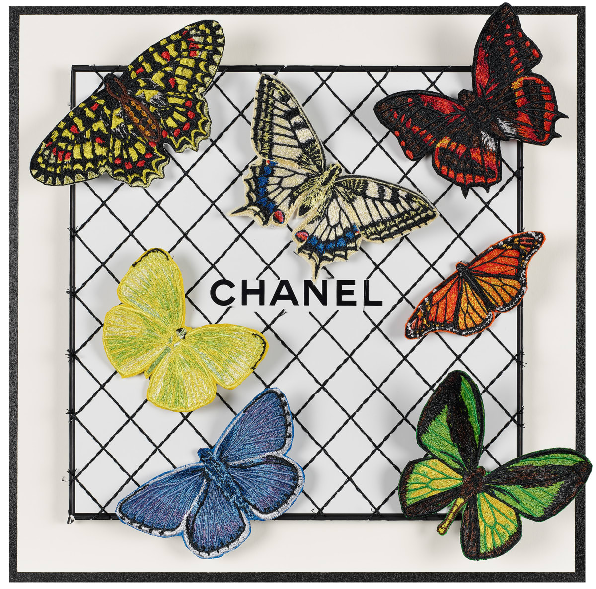 Stephen Wilson, Chanel Butterfly Net III, 2019