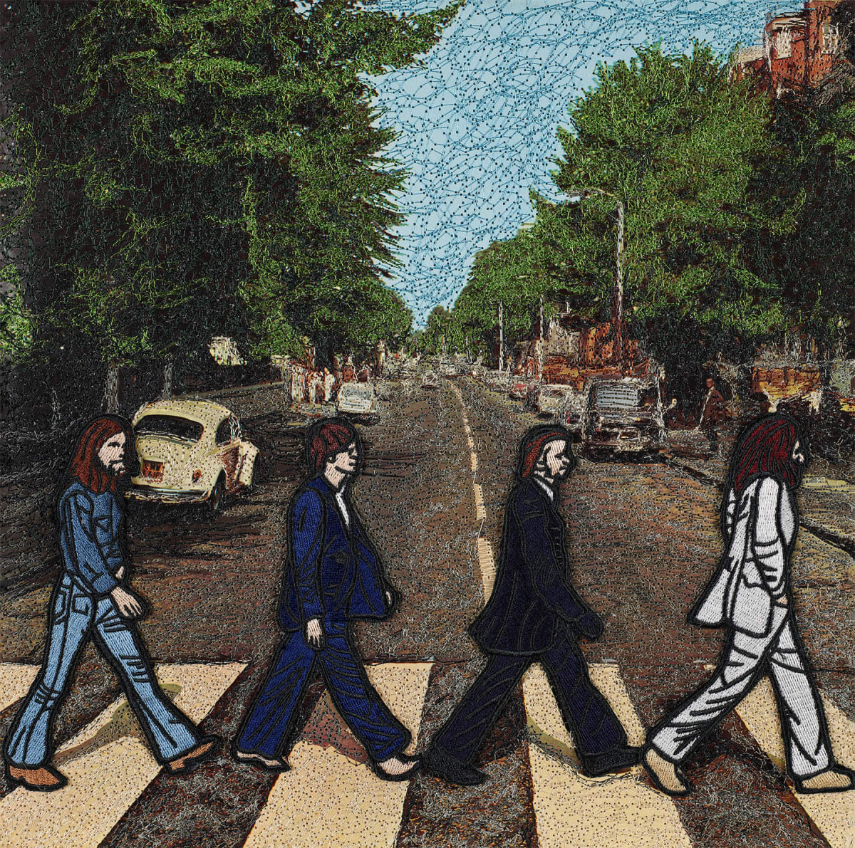 Stephen Wilson, Abbey Road, The Beatles , 2019
