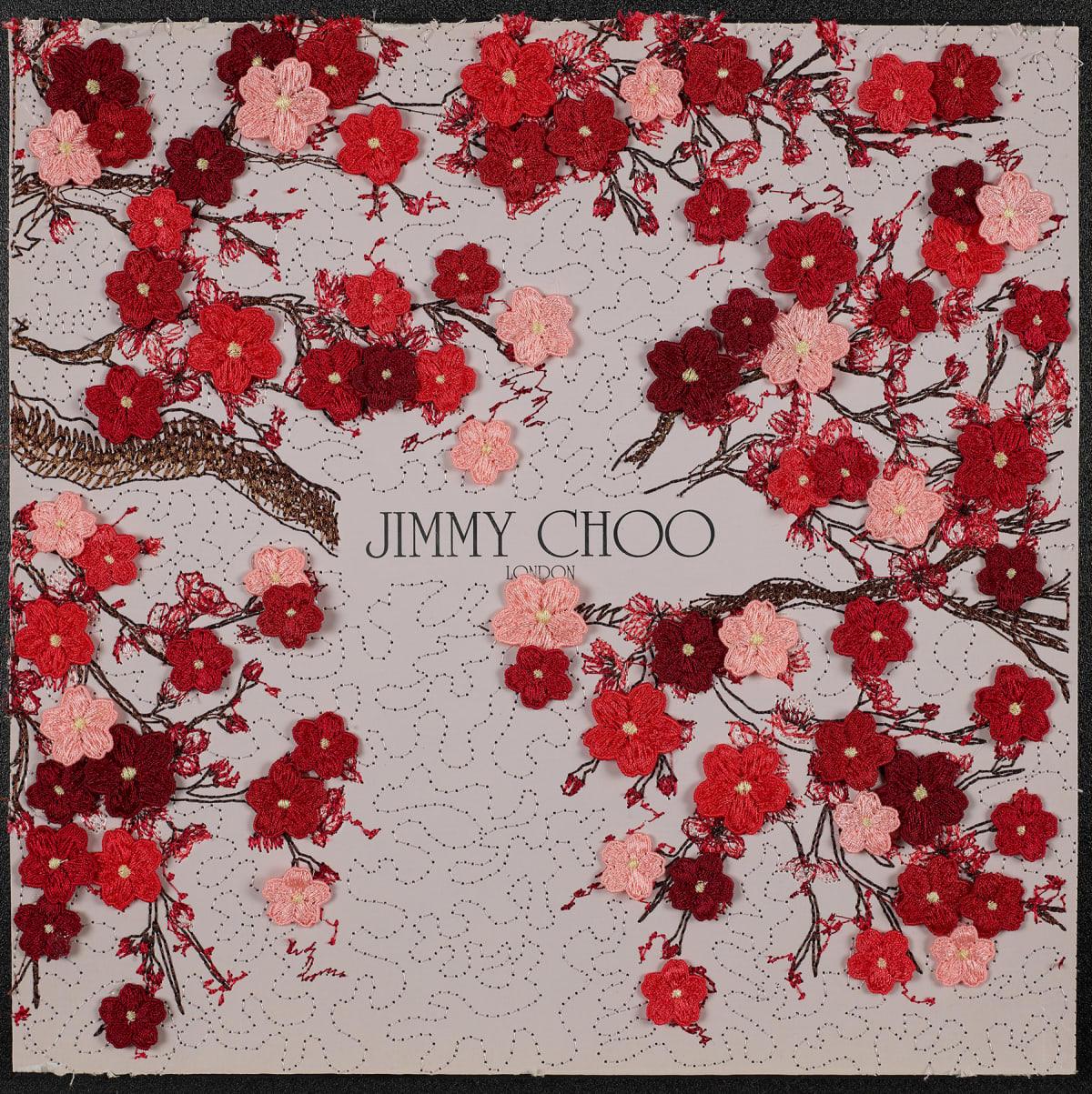 Stephen Wilson, Jimmy Choo Crimson Cherry, 2020