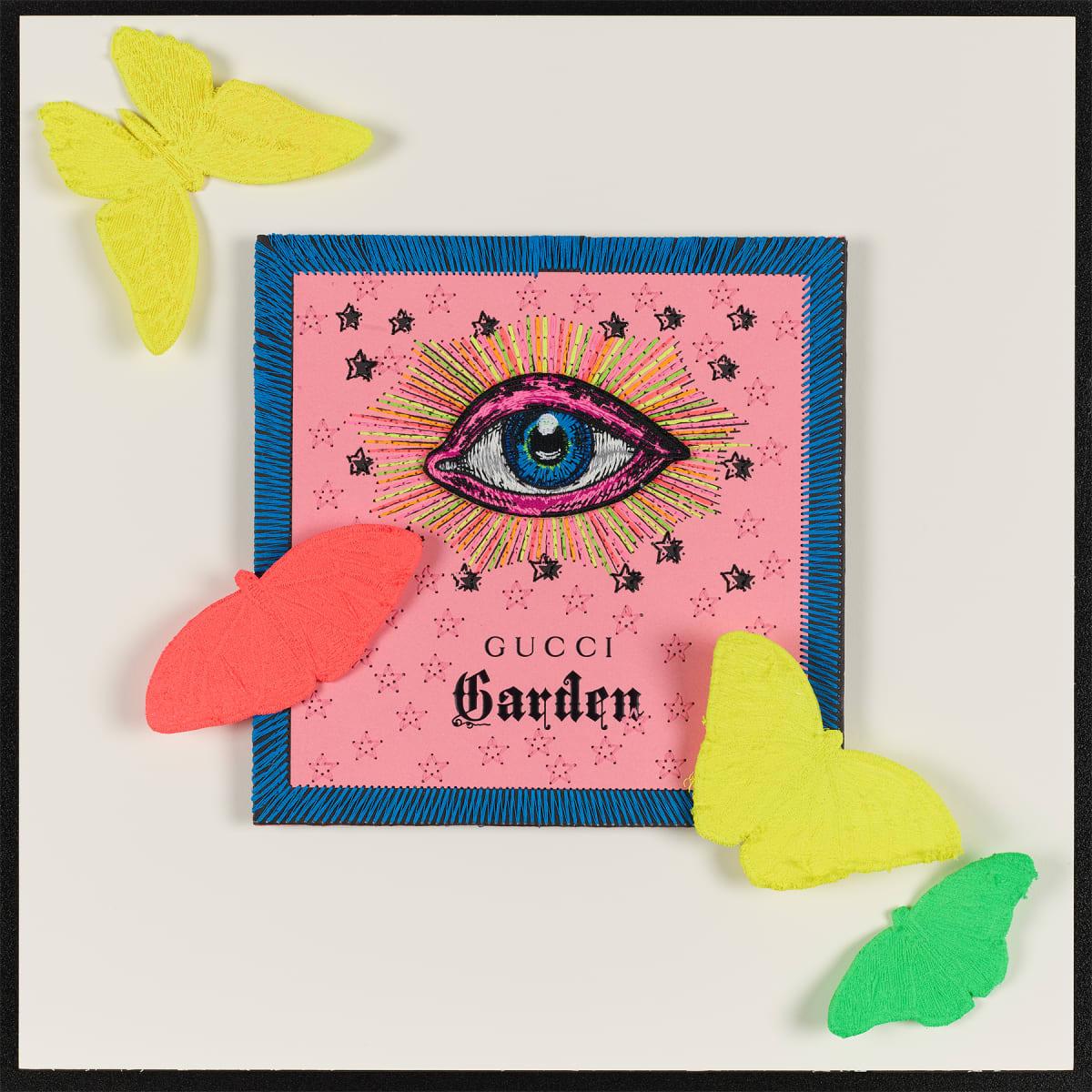 Stephen Wilson, Gucci Neon Garden V, 2020