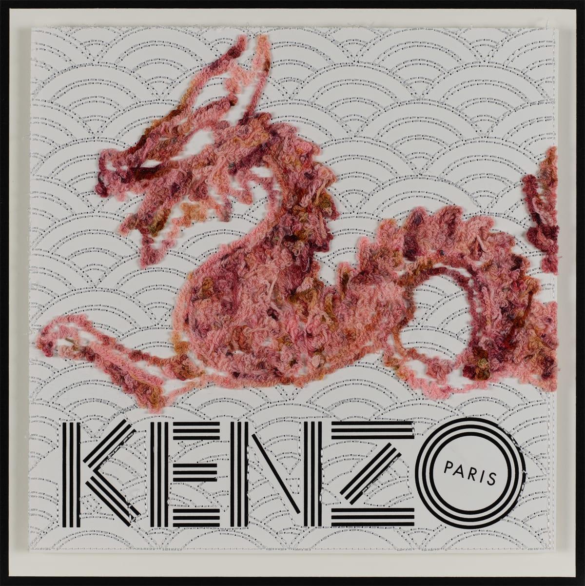 Stephen Wilson, Kenzo Beast, Pink, 2019