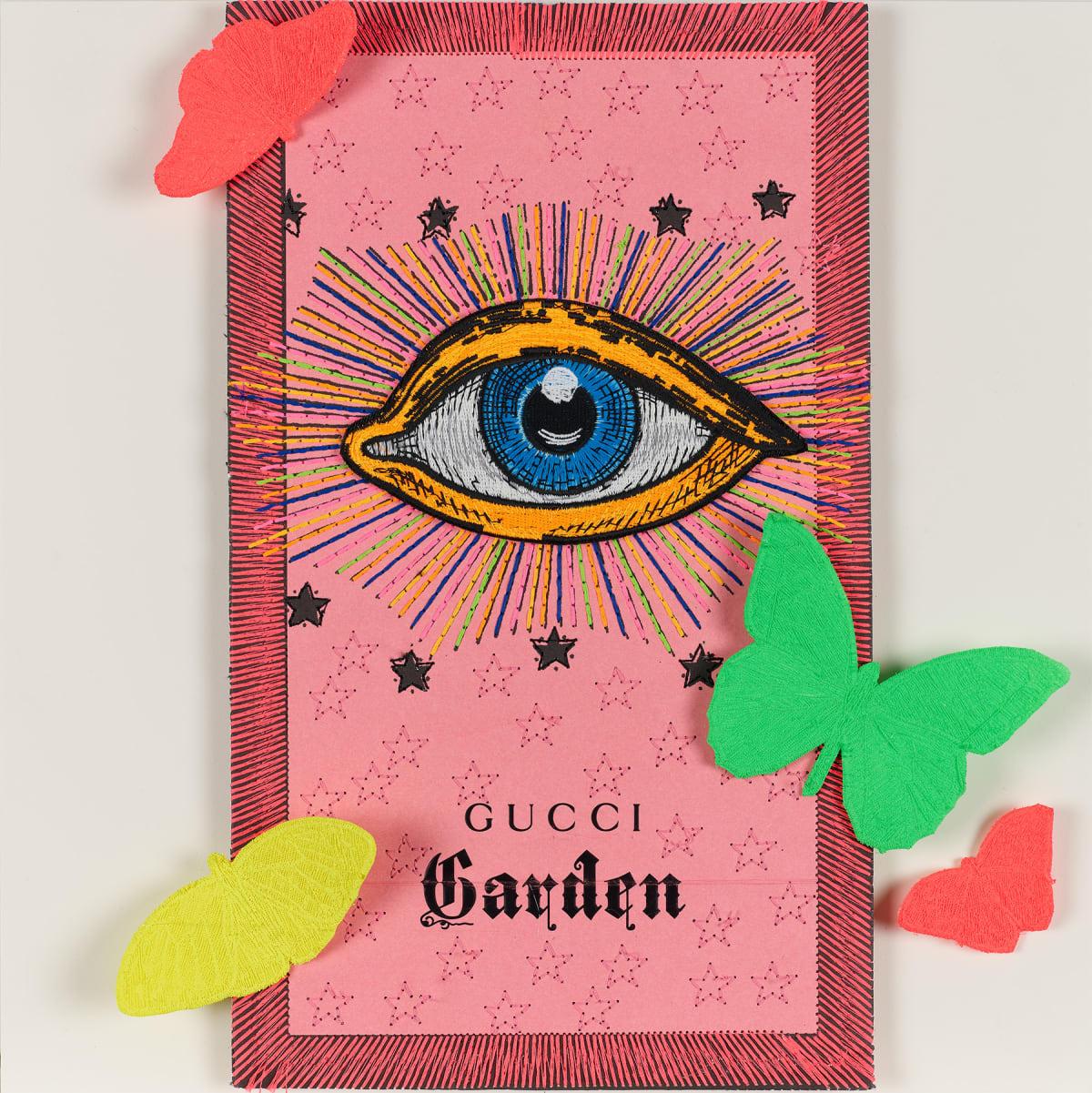 Stephen Wilson, Gucci Neon Garden III, 2020