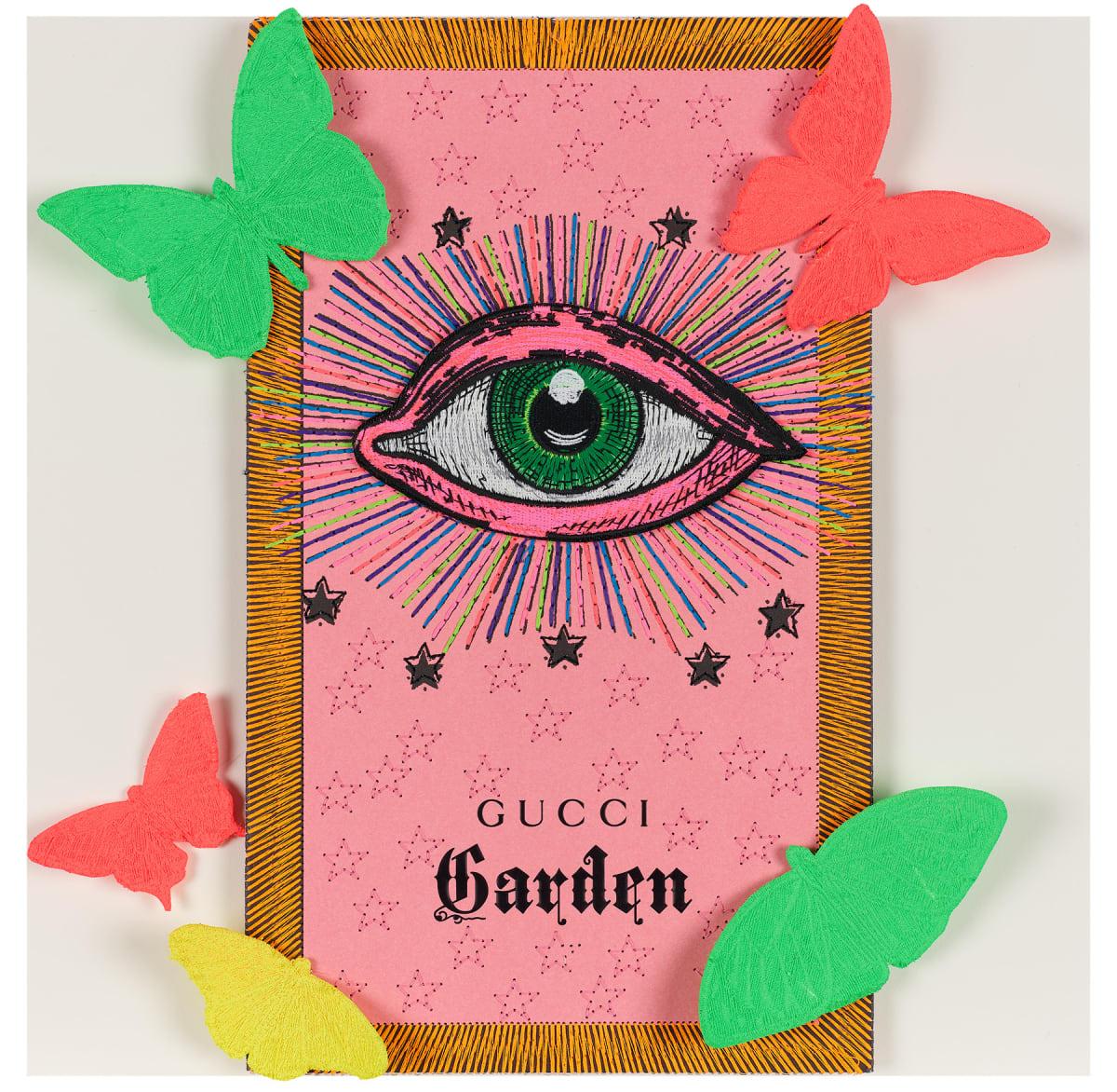 Stephen Wilson, Gucci Neon Garden IV, 2020