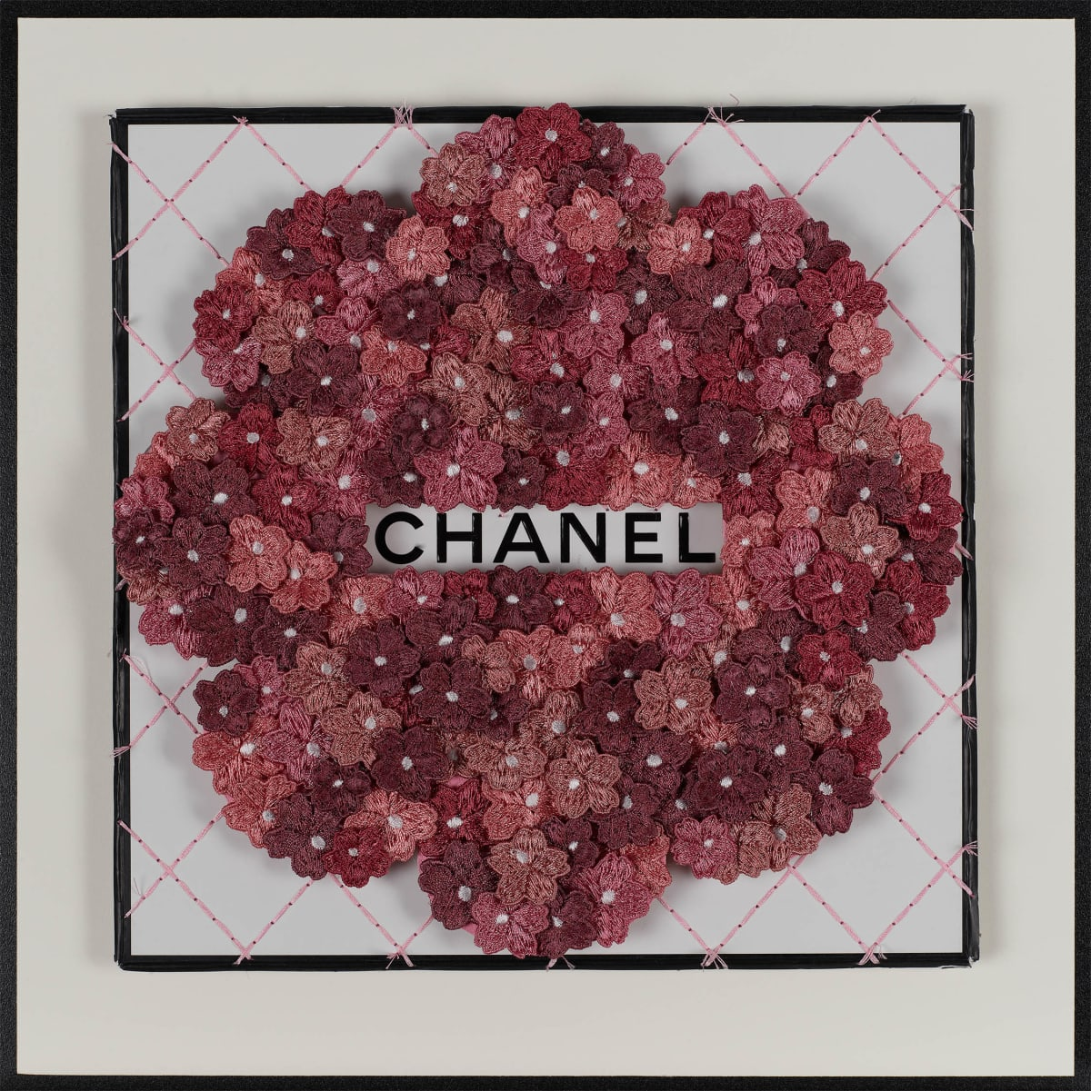 Stephen Wilson, Chanel Flower Flower, Wine, 2019